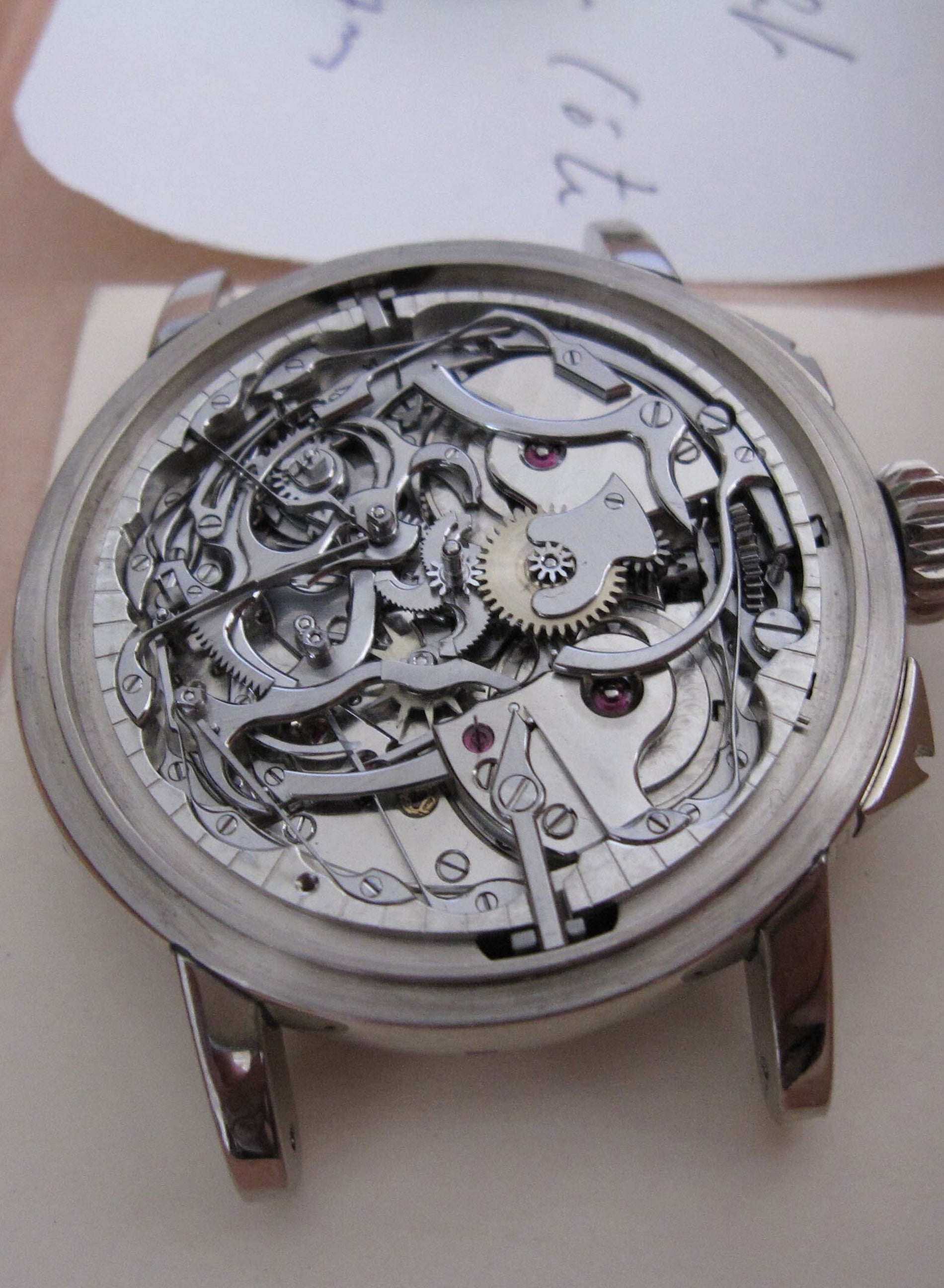 Philippe Dufour Grande Sonnerie minute-repeater sold at Christie's in 2008 from Michael Hickox for A Collected Man London