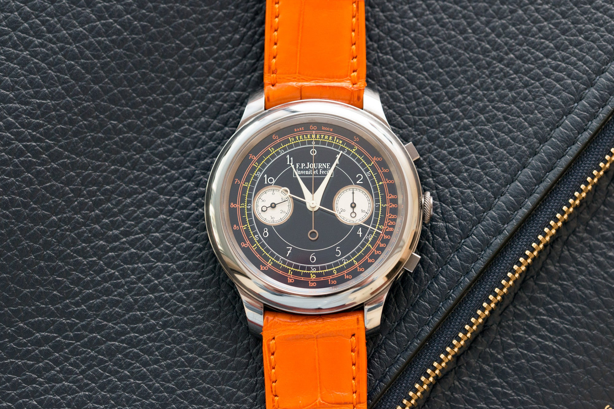 F. P. Journe Only Watch 2017 split seconds chronograph at A Collected Man