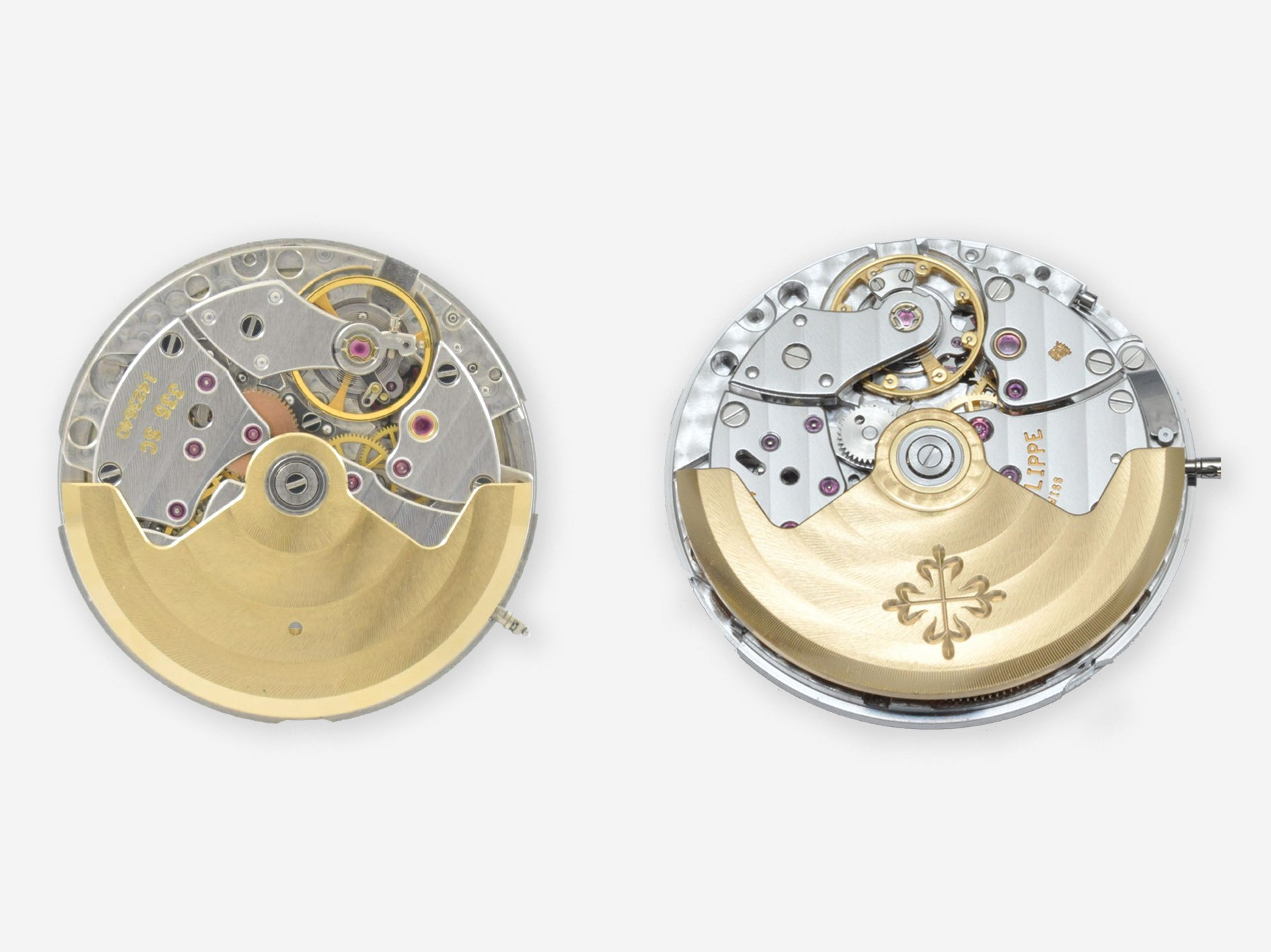 Patek Philippe calibers 335SC and 330SC from A Collected Man London