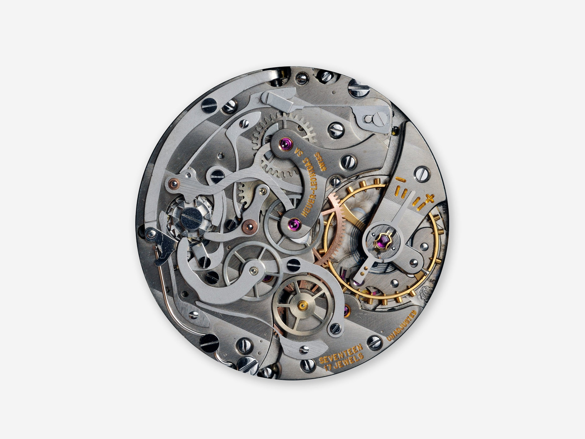 Valjoux calibre 5 chronograph movement