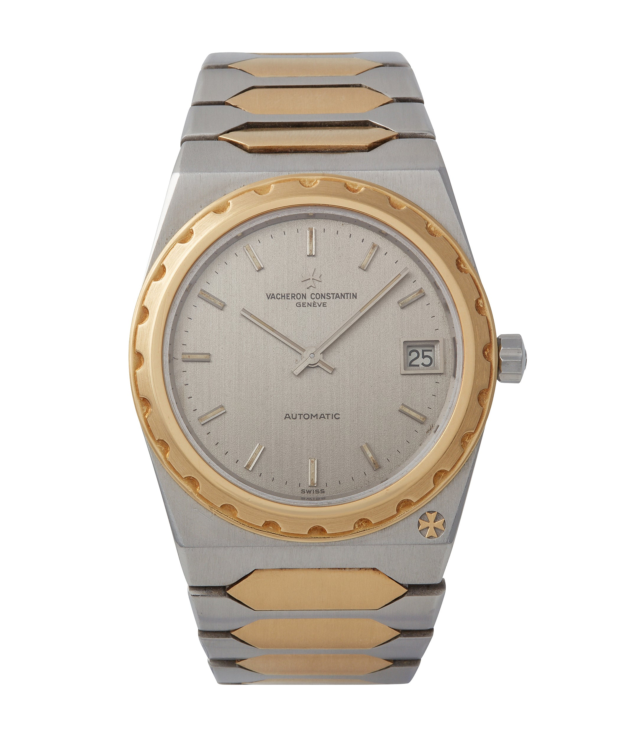 buy Vacheron Constantin Jumbo 222 two-tone bicolour steel gold sports watch for sale online A Collected Man London UK specialist of rare watches