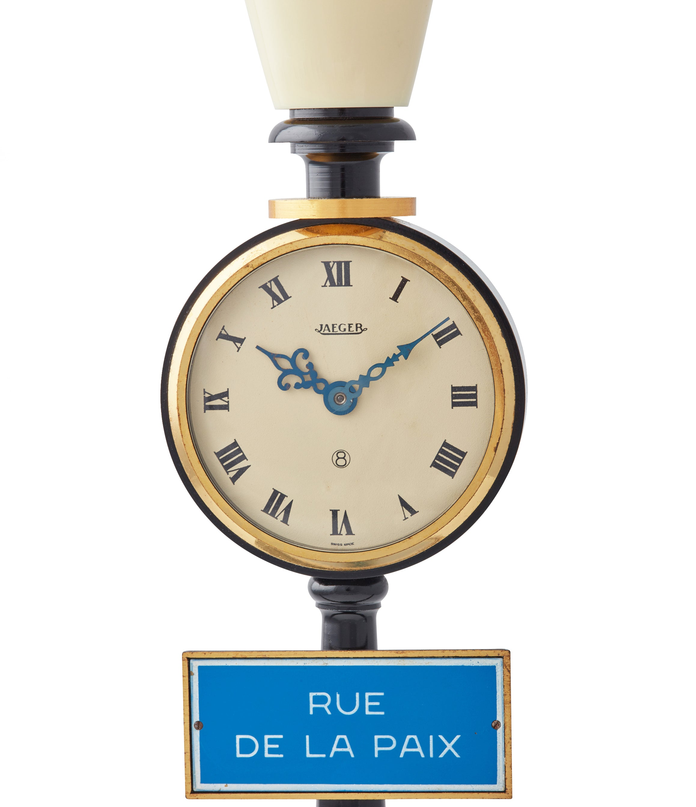 Rue de la Paix Table Clock | 8 Day