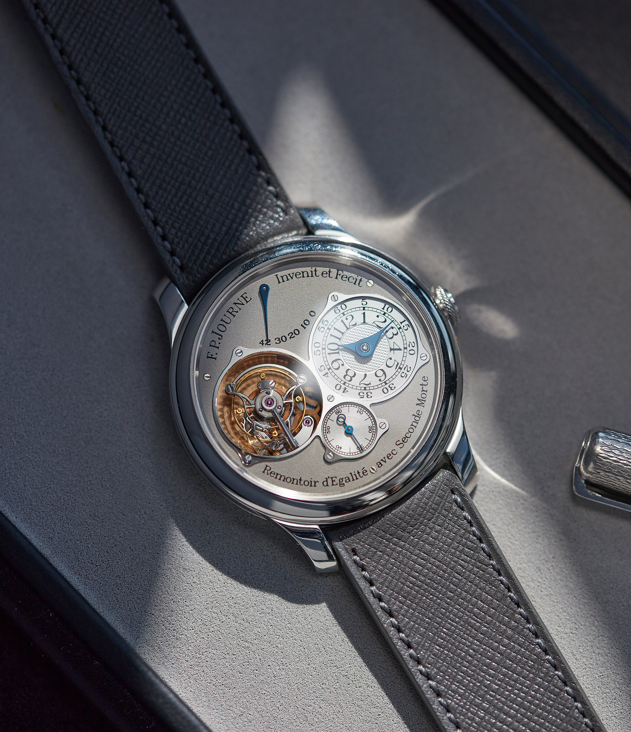 Tourbillon Souverain | Seconde Morte | platinum