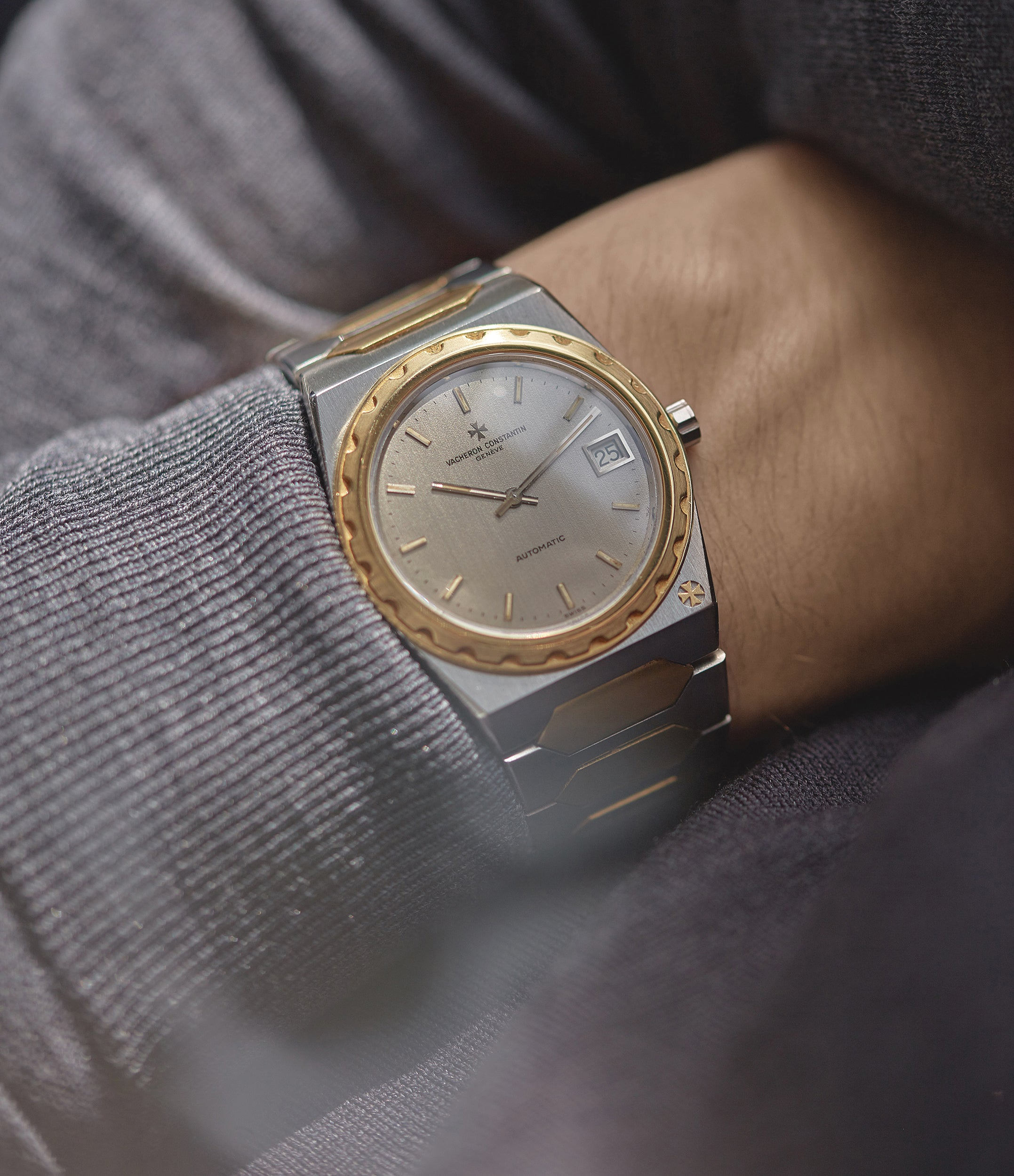 rare Vacheron Constantin Jumbo 222 two-tone bicolour steel gold sports watch for sale online A Collected Man London UK specialist of rare watches