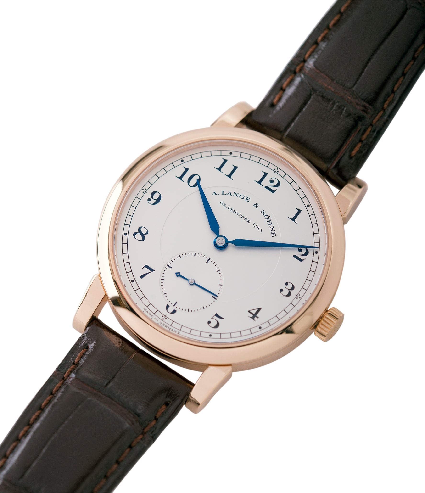buying A. Lange & Sohne 1815 233.032 rose gold pre-owned dress watch for sale online at A Collected Man London Uk specialist of preowned luxury watches