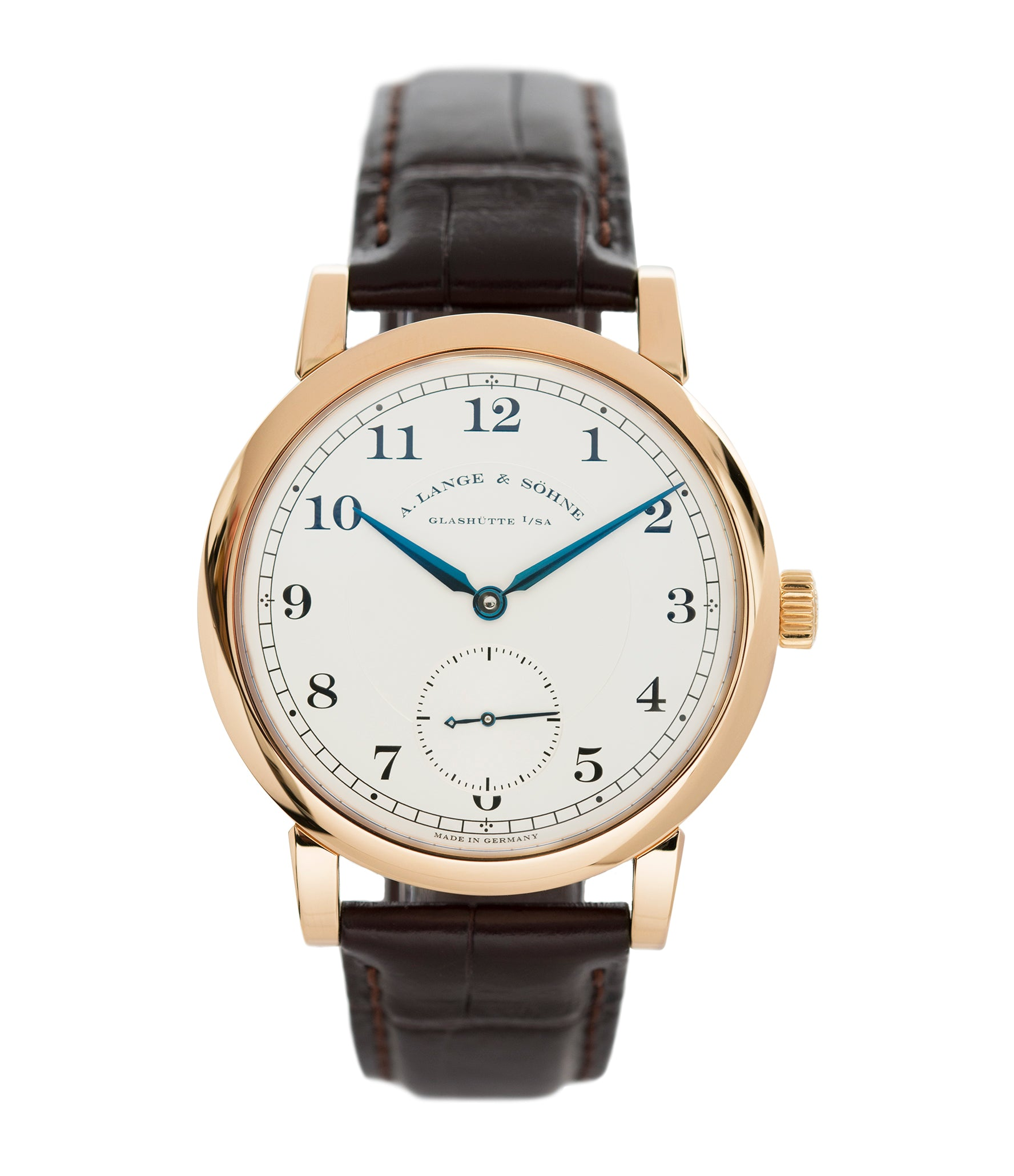 buy A. Lange & Sohne 1815 233.032 rose gold pre-owned dress watch for sale online at A Collected Man London Uk specialist of preowned luxury watches