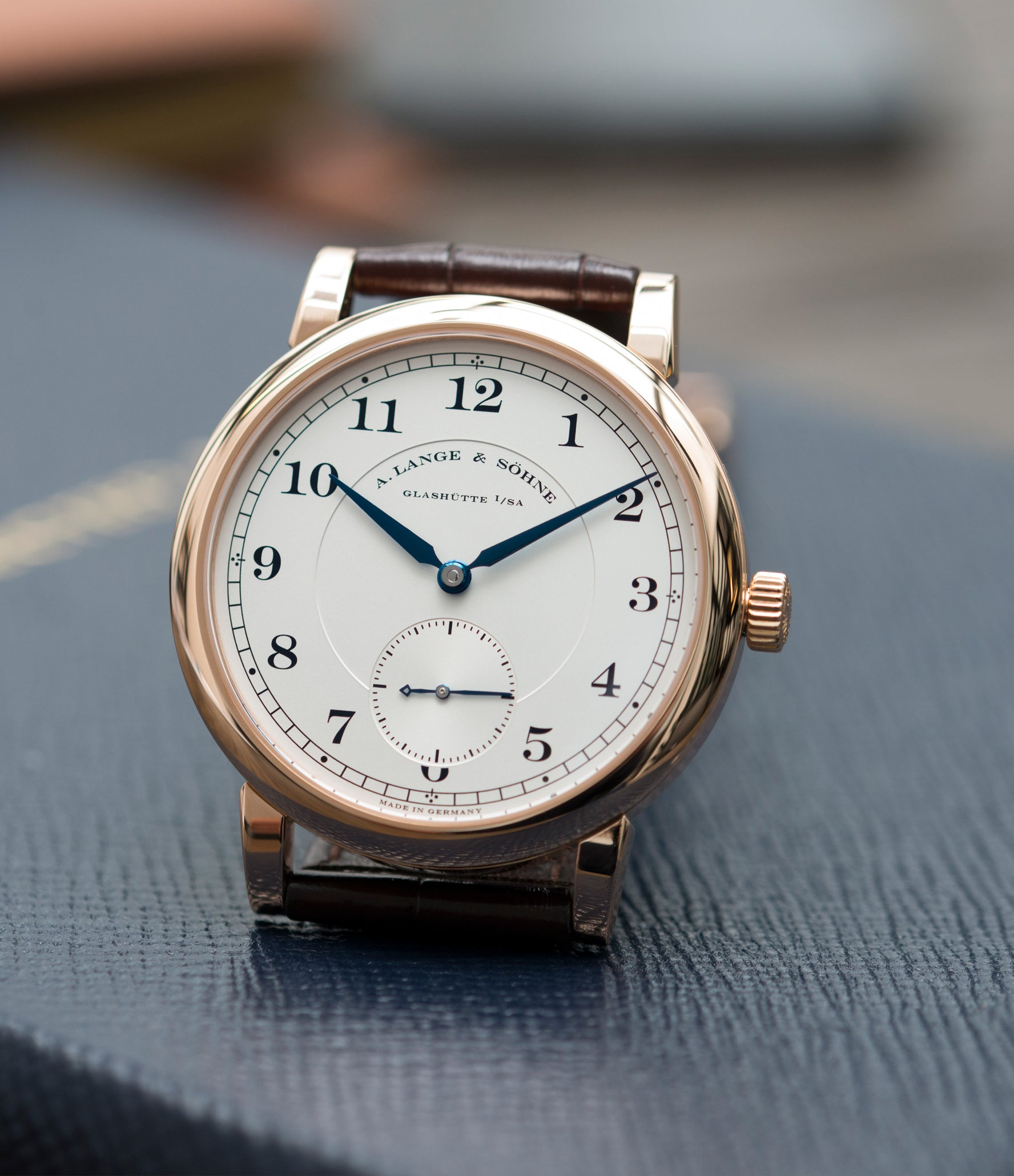 men's luxury watch A. Lange & Sohne 1815 233.032 rose gold dress watch for sale online at A Collected Man London Uk specialist of preowned luxury watches