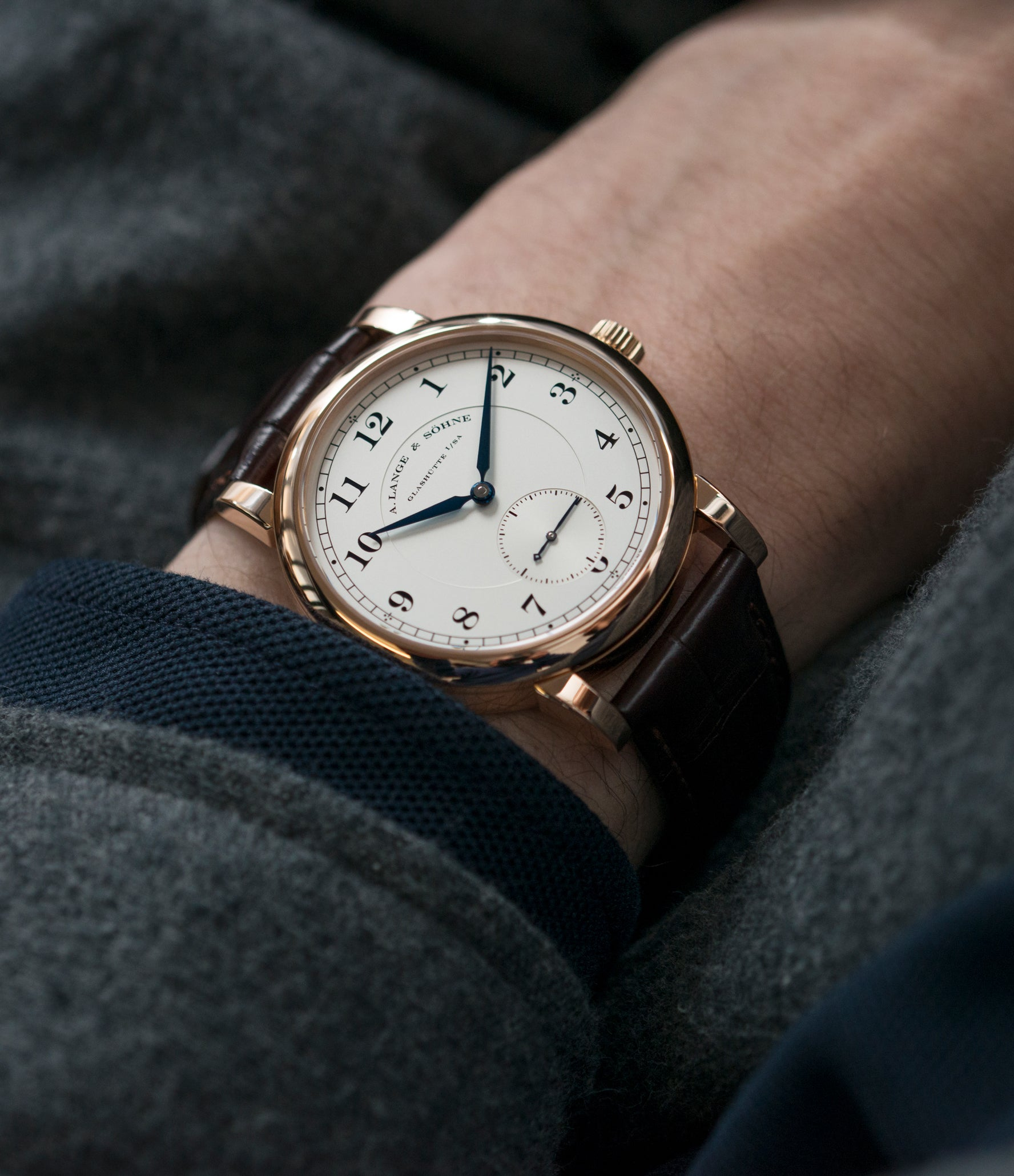 wristwatch A. Lange & Sohne 1815 233.032 rose gold dress watch for sale online at A Collected Man London Uk specialist of preowned luxury watches
