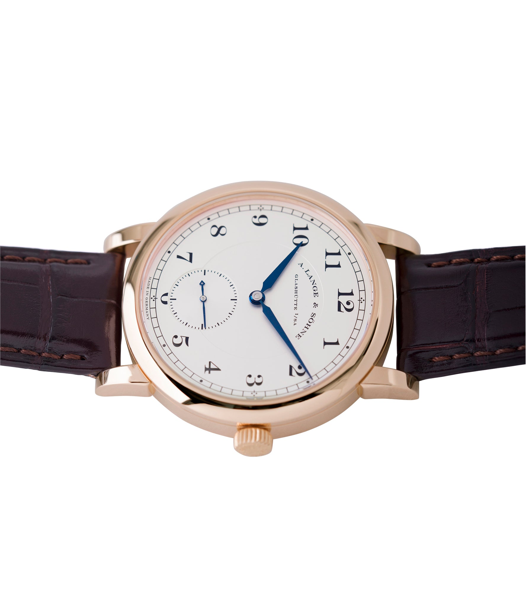 233.032 A. Lange & Sohne 1815 rose gold dress watch for sale online at A Collected Man London Uk specialist of preowned luxury watches
