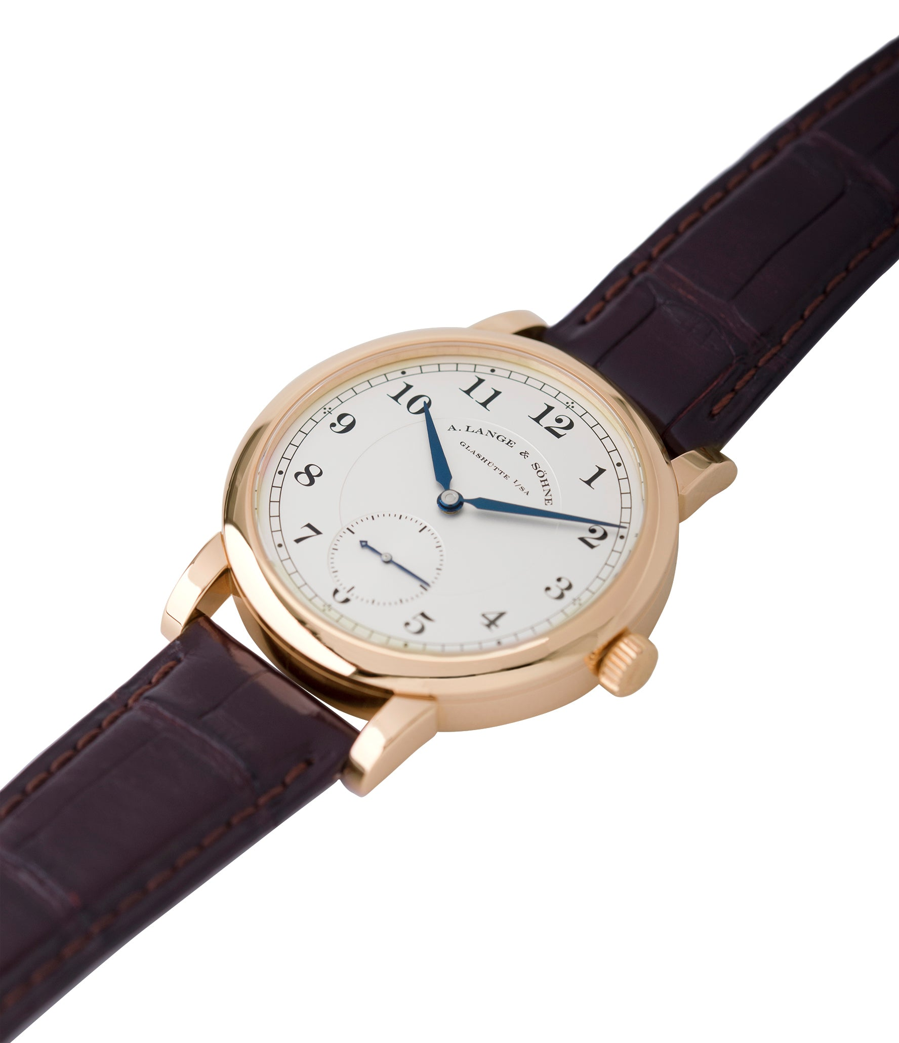 buy preowned A. Lange & Sohne 1815 233.032 rose gold dress watch for sale online at A Collected Man London Uk specialist of preowned luxury watches