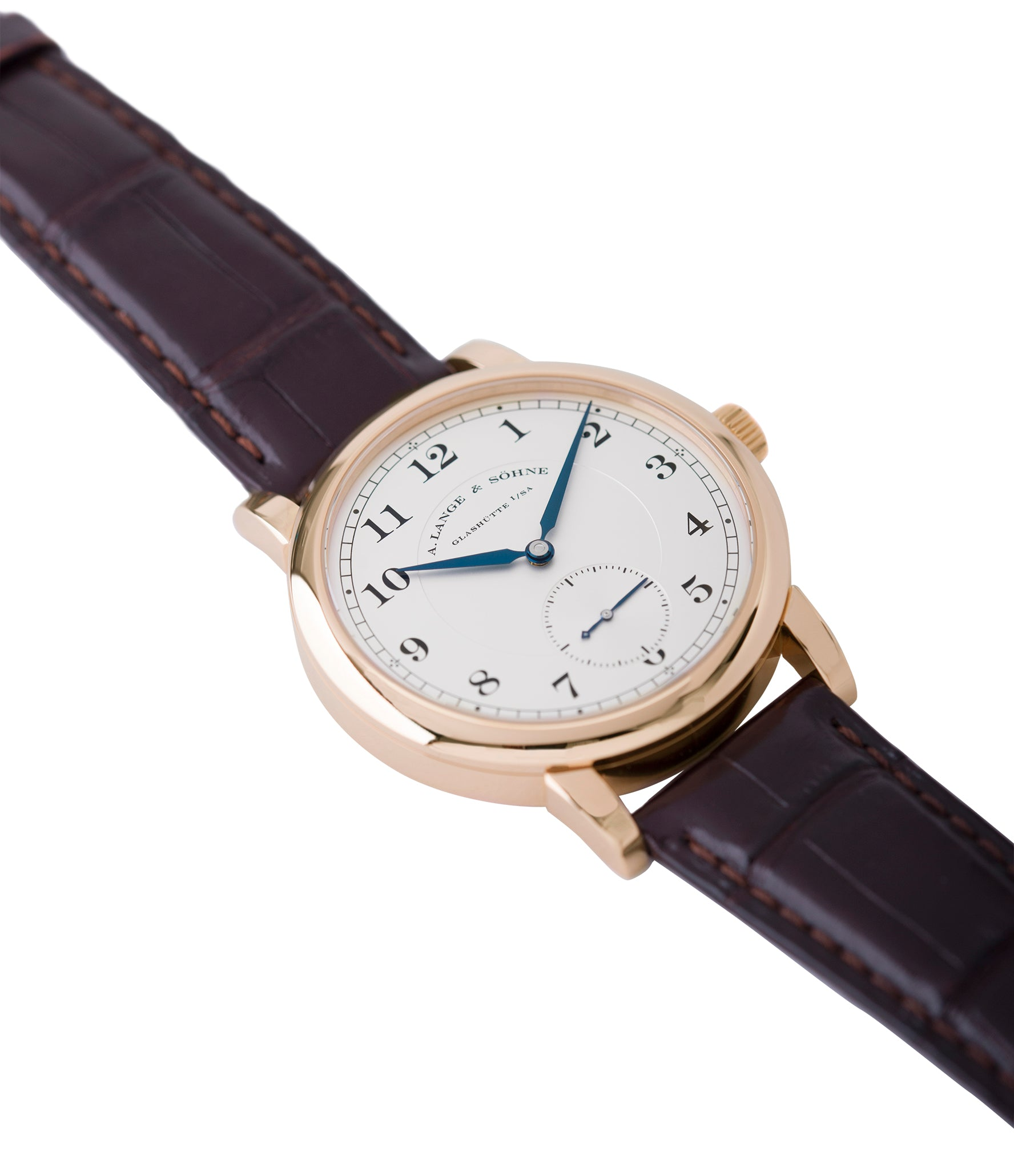 for sale A. Lange & Sohne 1815 233.032 rose gold pre-owned dress watch for sale online at A Collected Man London Uk specialist of preowned luxury watches