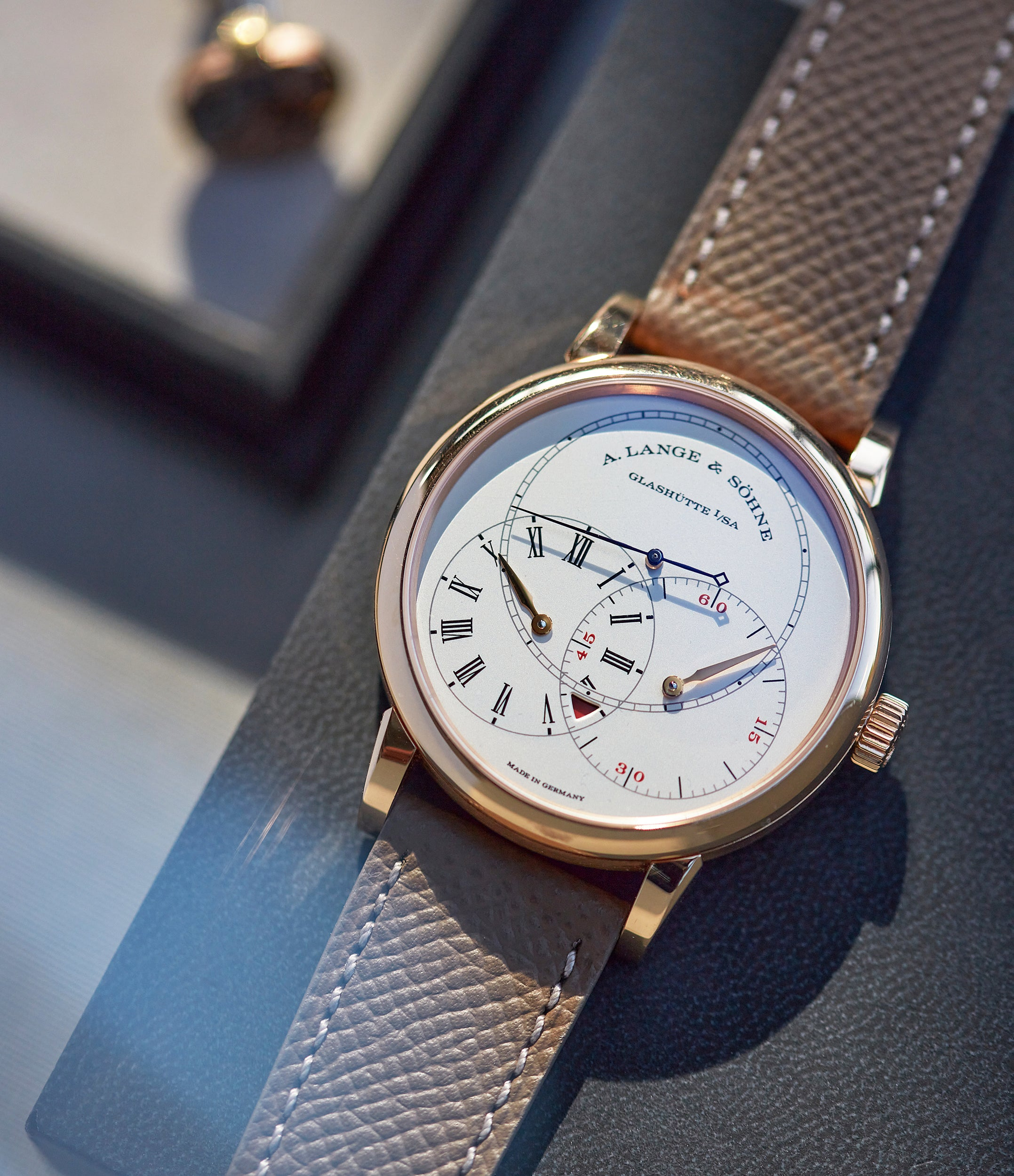 Richard Lange Jumping Seconds | pink gold