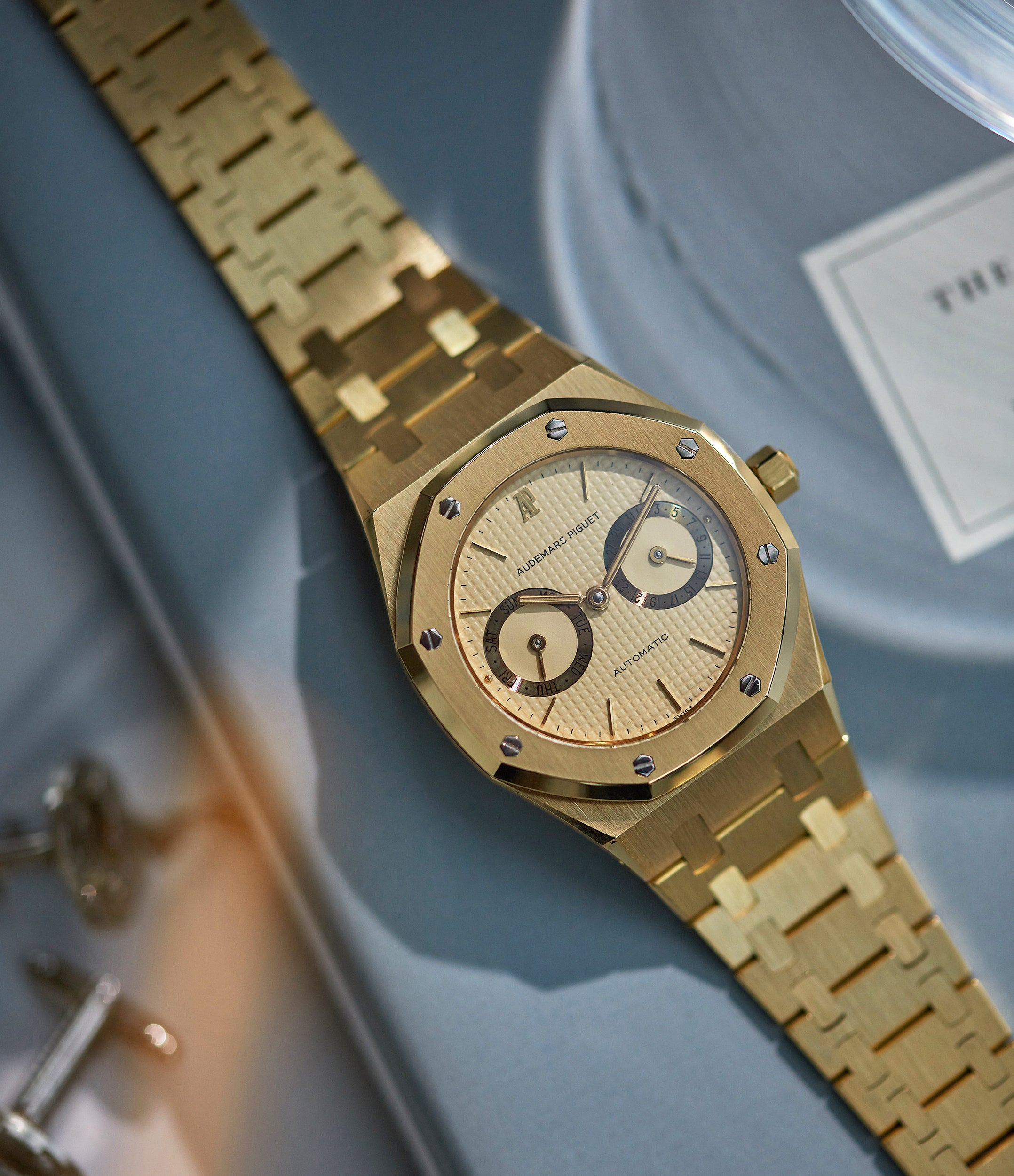 Royal Oak | 25572BA | yellow gold