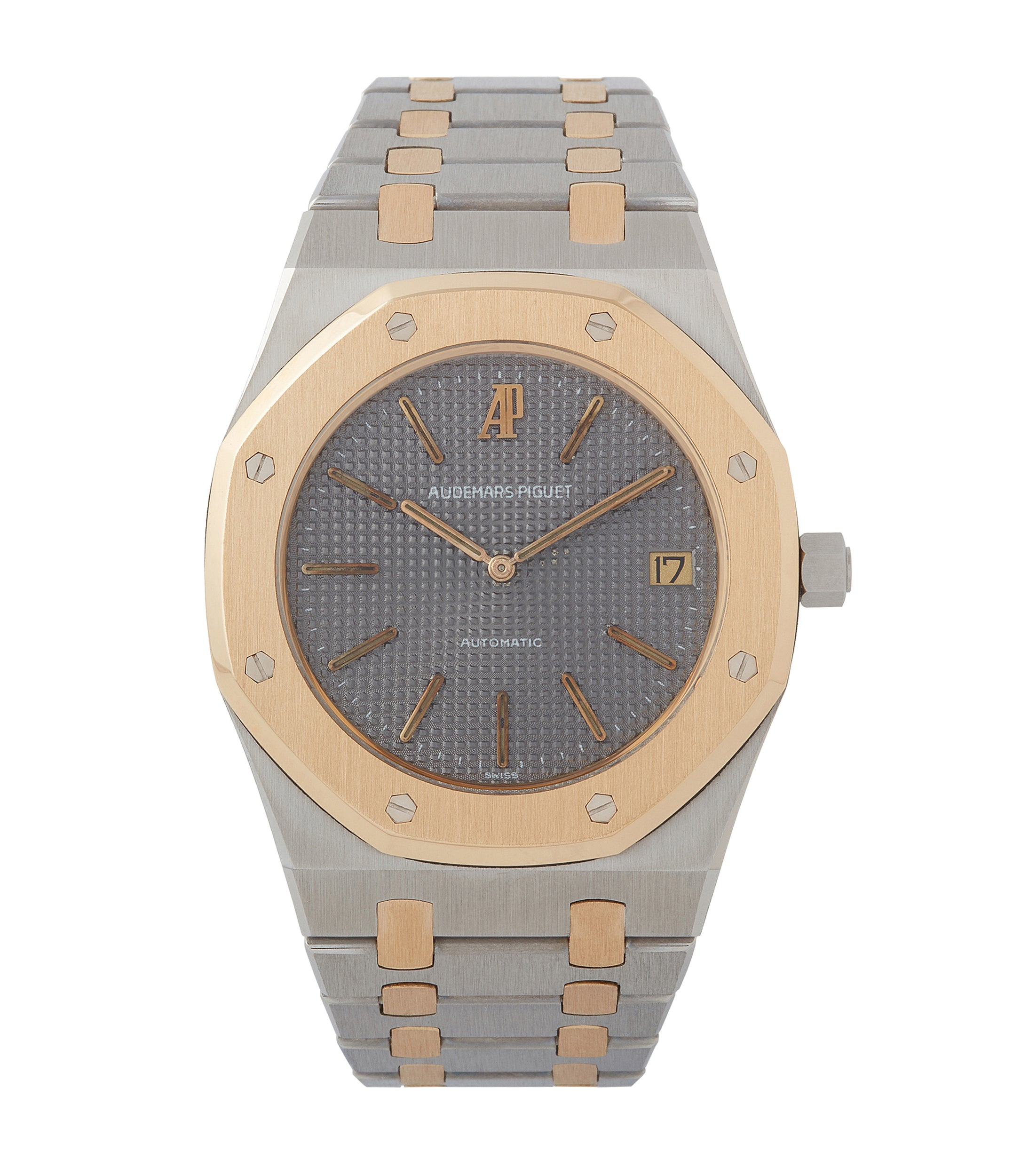 buy vintage Audemars Piguet Royal Oak 5402SA steel gold bi-metal sports watch for sale online at A Collected Man London UK specialist of rare watches