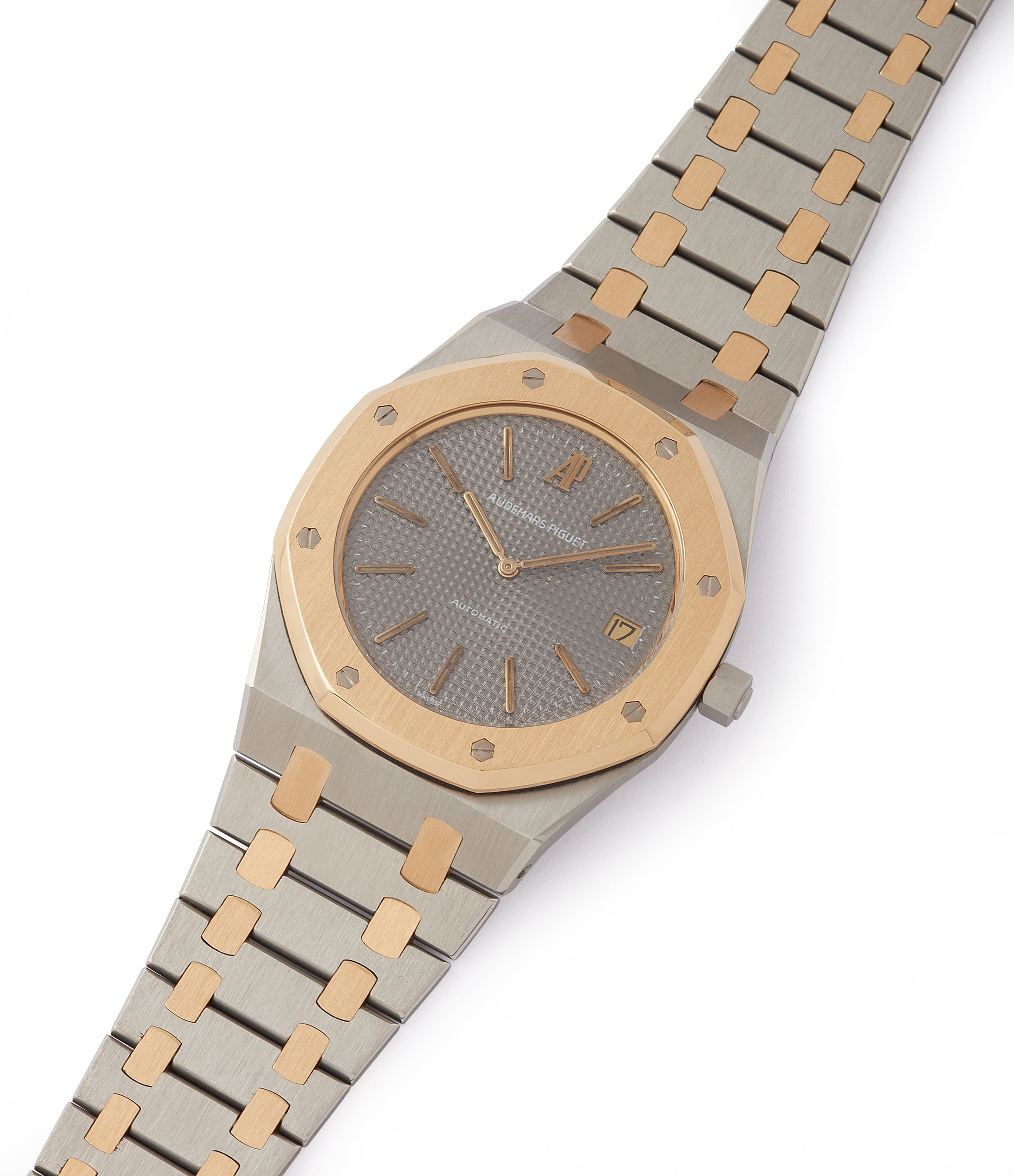 for sale vintage Audemars Piguet Royal Oak 5402SA steel gold bi-metal sports watch for sale online at A Collected Man London UK specialist of rare watches