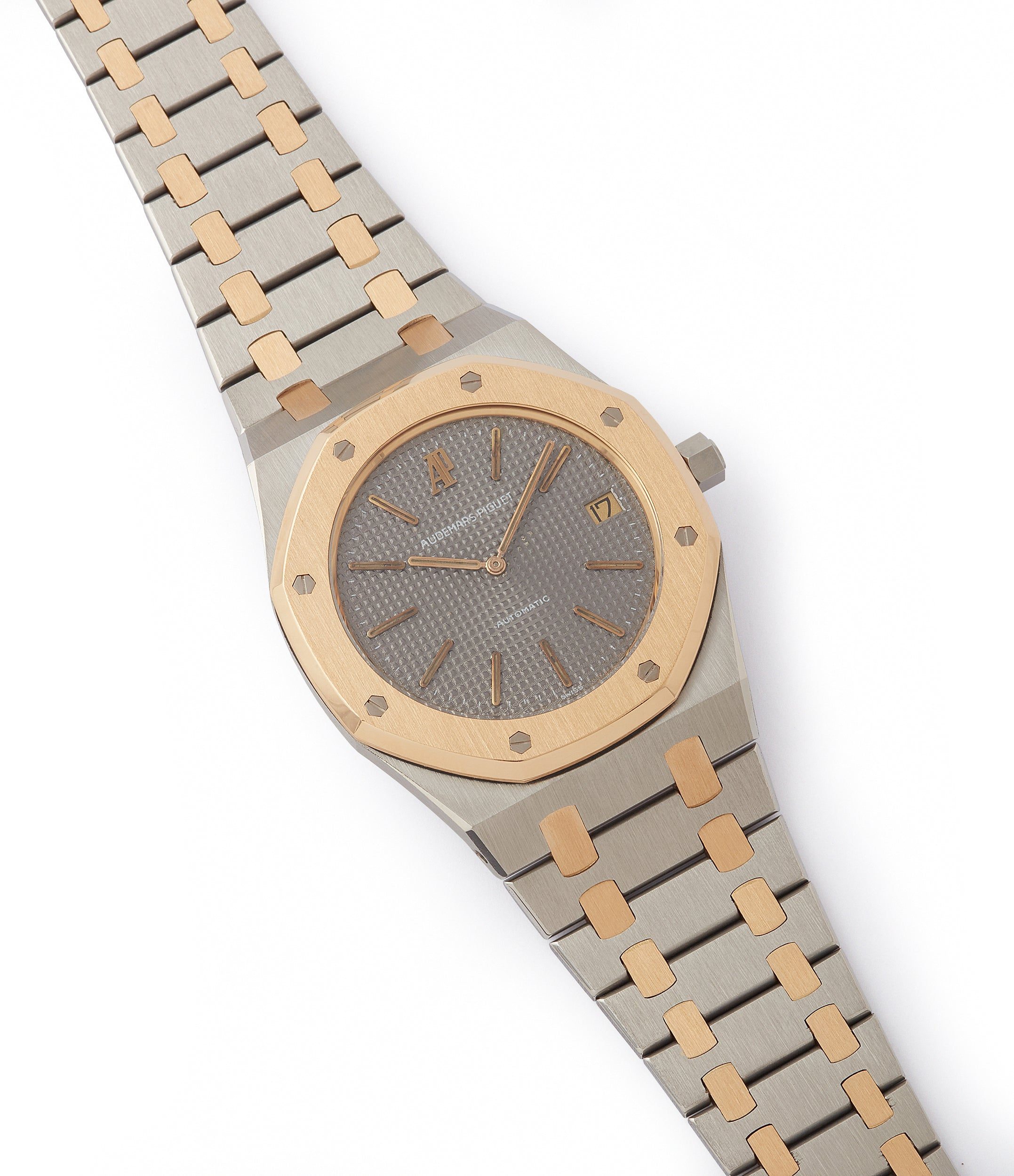 selling vintage Audemars Piguet Royal Oak 5402SA steel gold bi-metal sports watch for sale online at A Collected Man London UK specialist of rare watches
