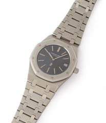 for sale vintage Audemars Piguet Royal Oak A-series 5402 steel sport watch for sale online at A Collected Man London UK specialist of rare watches