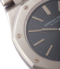 original dial Audemars Piguet Royal Oak A-series 5402 steel sport watch for sale online at A Collected Man London UK specialist of rare watches