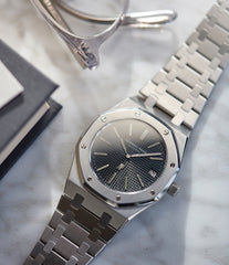 5402 Audemars Piguet Royal Oak A-series steel sport watch for sale online at A Collected Man London UK specialist of rare watches