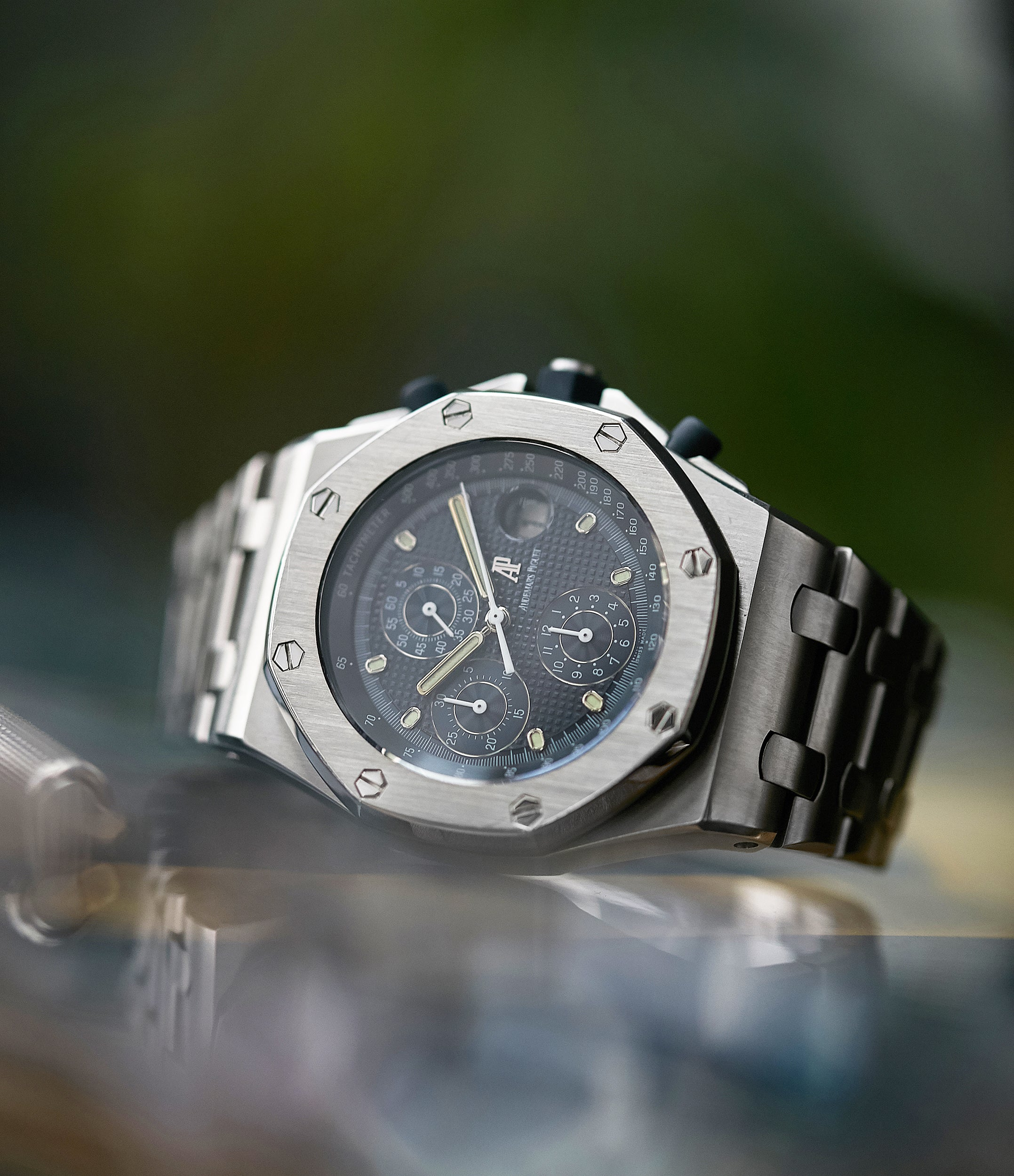 sell Audemars Piguet Royal Oak Offshore 'The Beast' 25721 steel vintage chronograph watch for sale online A Collected Man London UK specialist of rare watches