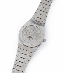 for sale Audemars Piguet Royal Oak Perpetual Calendar 25654ST steel vintage watch for sale online at A Collected Man London UK specialist of rare watches