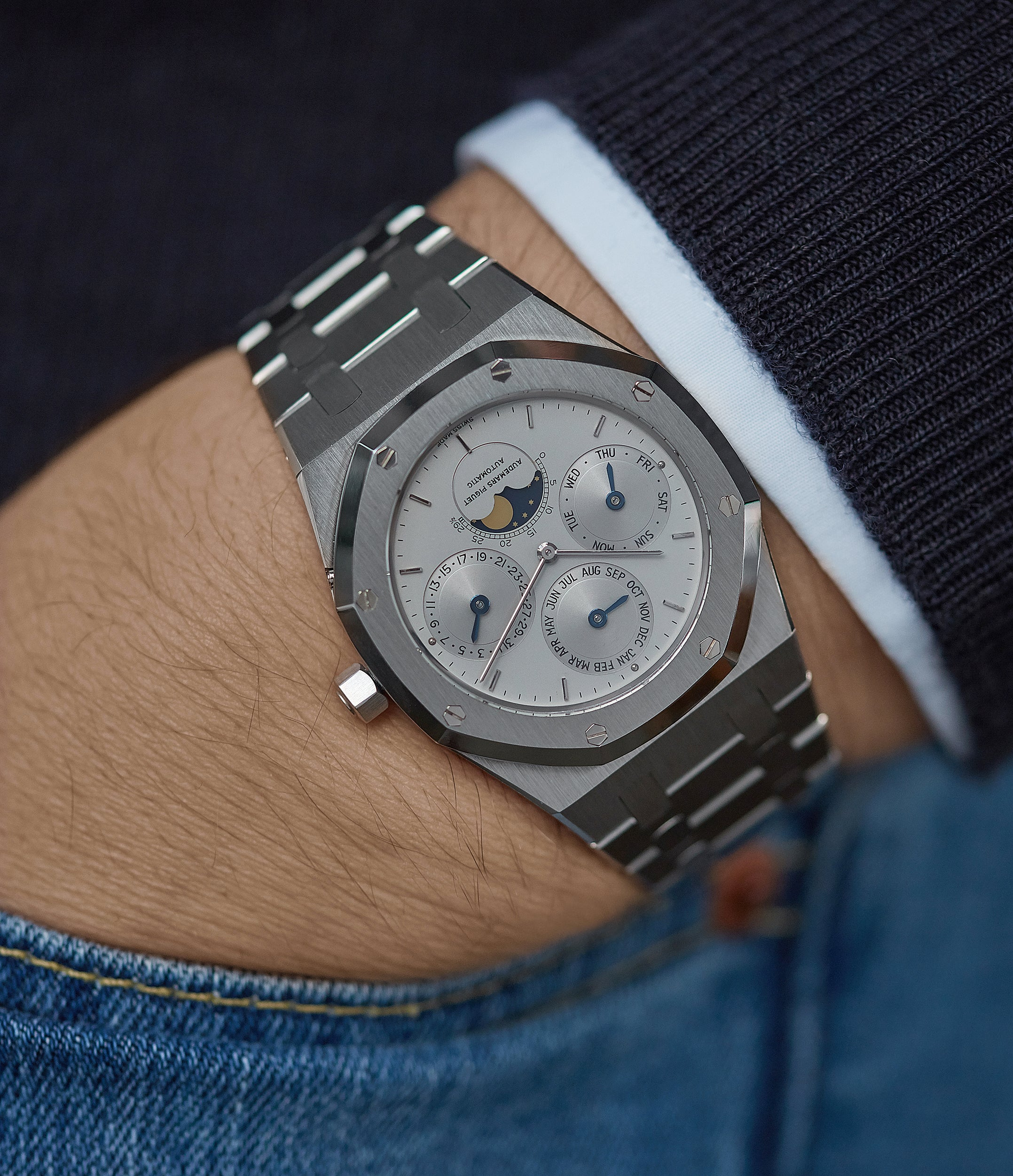 rare Audemars Piguet Royal Oak 25654ST vintage watch for sale online at A Collected Man London UK specialist of rare watches