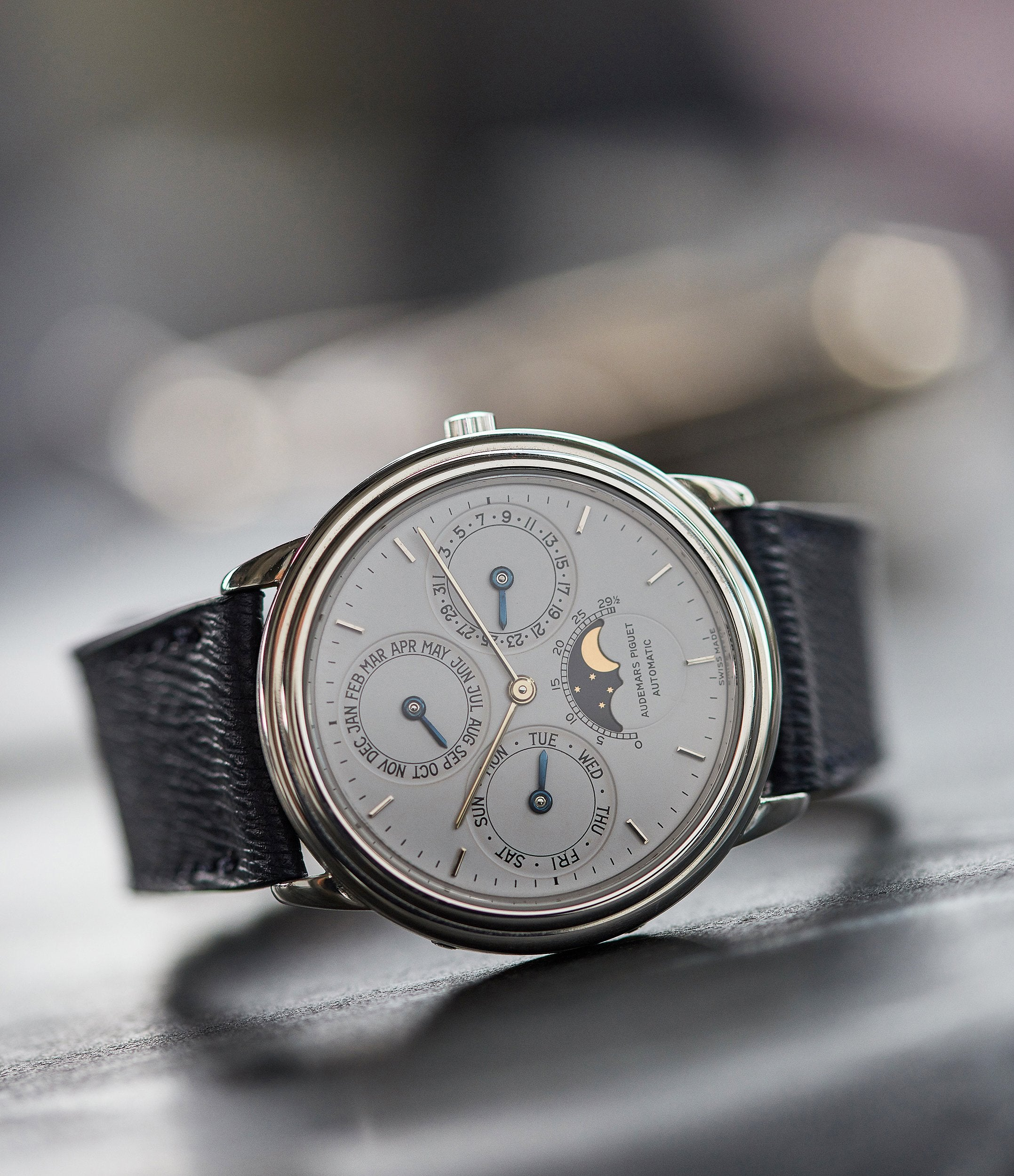 AP Perpetual Calendar PT2567 rare vintage dress watch for sale online A Collected Man London UK specialist rare watches