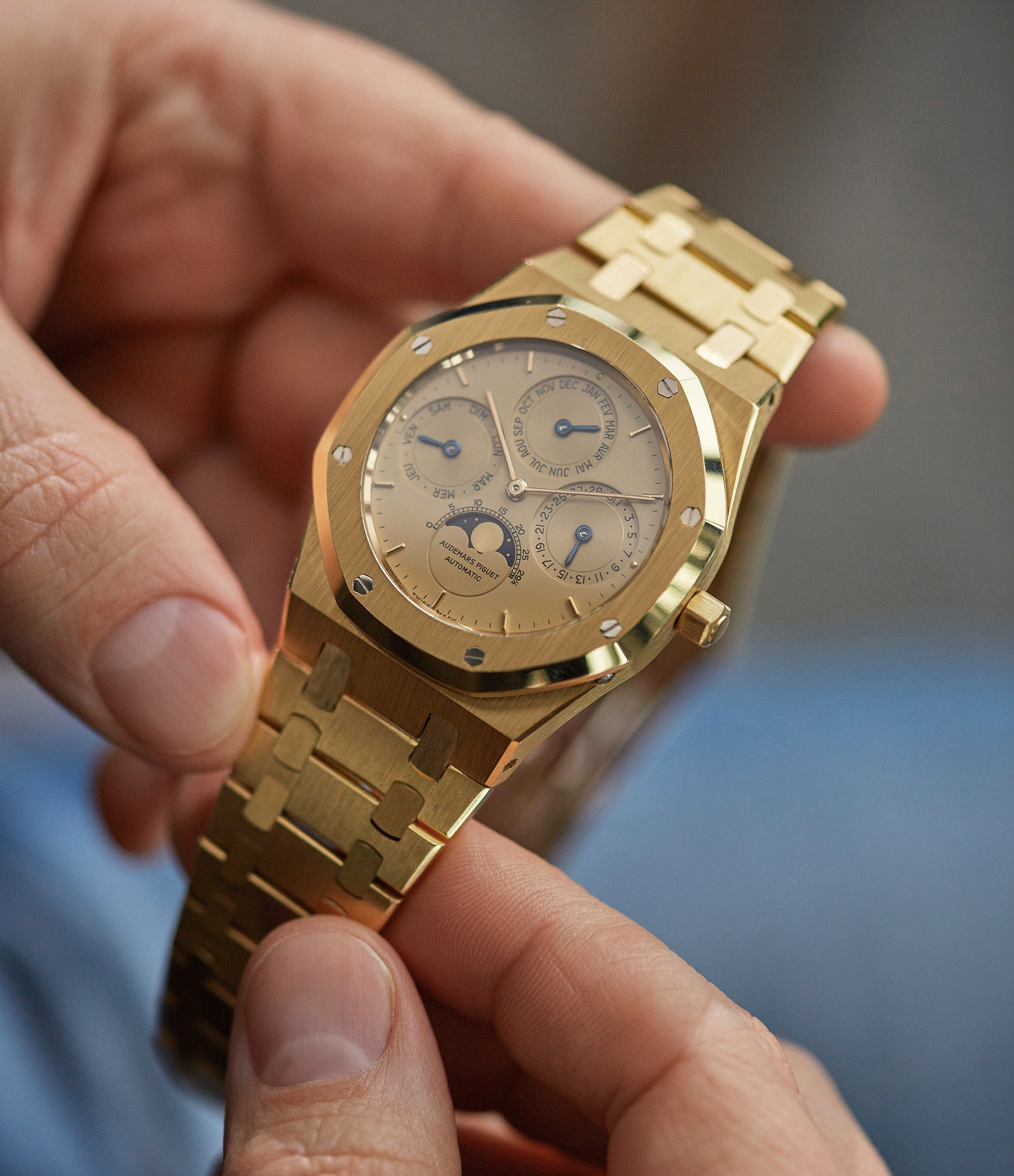 Royal Oak | perpetual calendar | gold
