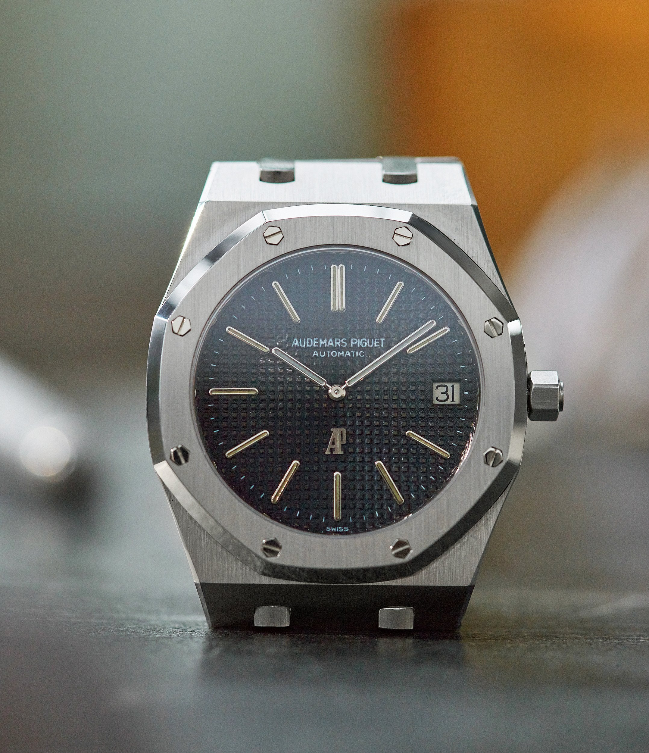 shop pre-owned Audemars Piguet Royal Oak early A-series steel 5402A steel sports luxury watch for sale online A Collected Man London UK specialist rare watches
