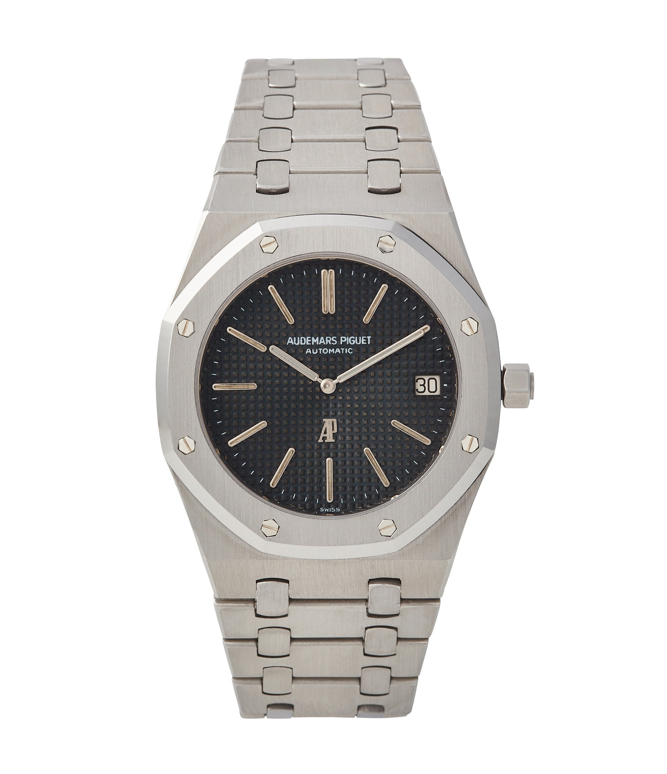 early Audemars Piguet Royal Oak early A-series steel 5402A steel sports luxury watch for sale online A Collected Man London UK specialist rare watches