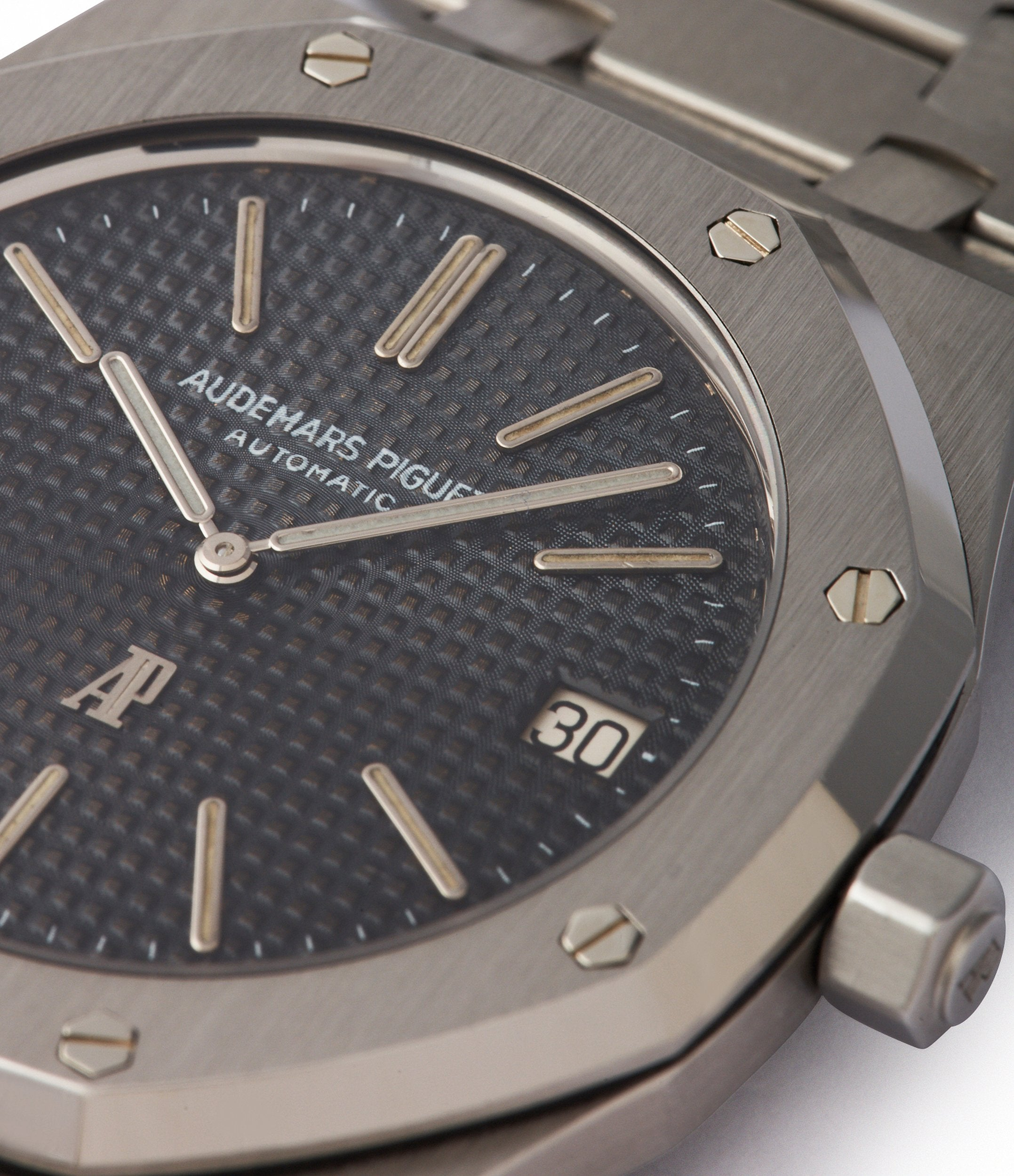 original dial Audemars Piguet Royal Oak early A-series steel 5402A steel sports luxury watch for sale online A Collected Man London UK specialist rare watches