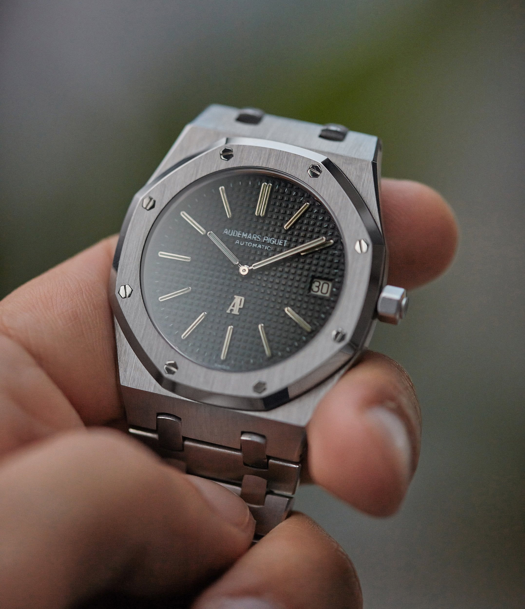 early A-series Audemars Piguet Royal Oak steel 5402A steel sports luxury watch for sale online A Collected Man London UK specialist rare watches