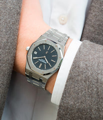 men's vintage cool sport watch Audemars Piguet 5402 Royal Oak A series steel rare buy online at A Collected Man London UK vintage watch specialist