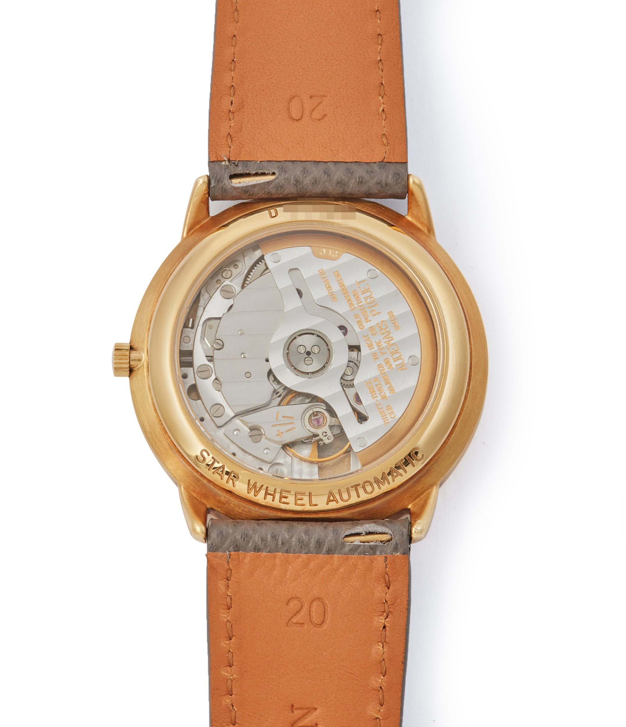 Star Wheel | 25720BA | Yellow Gold