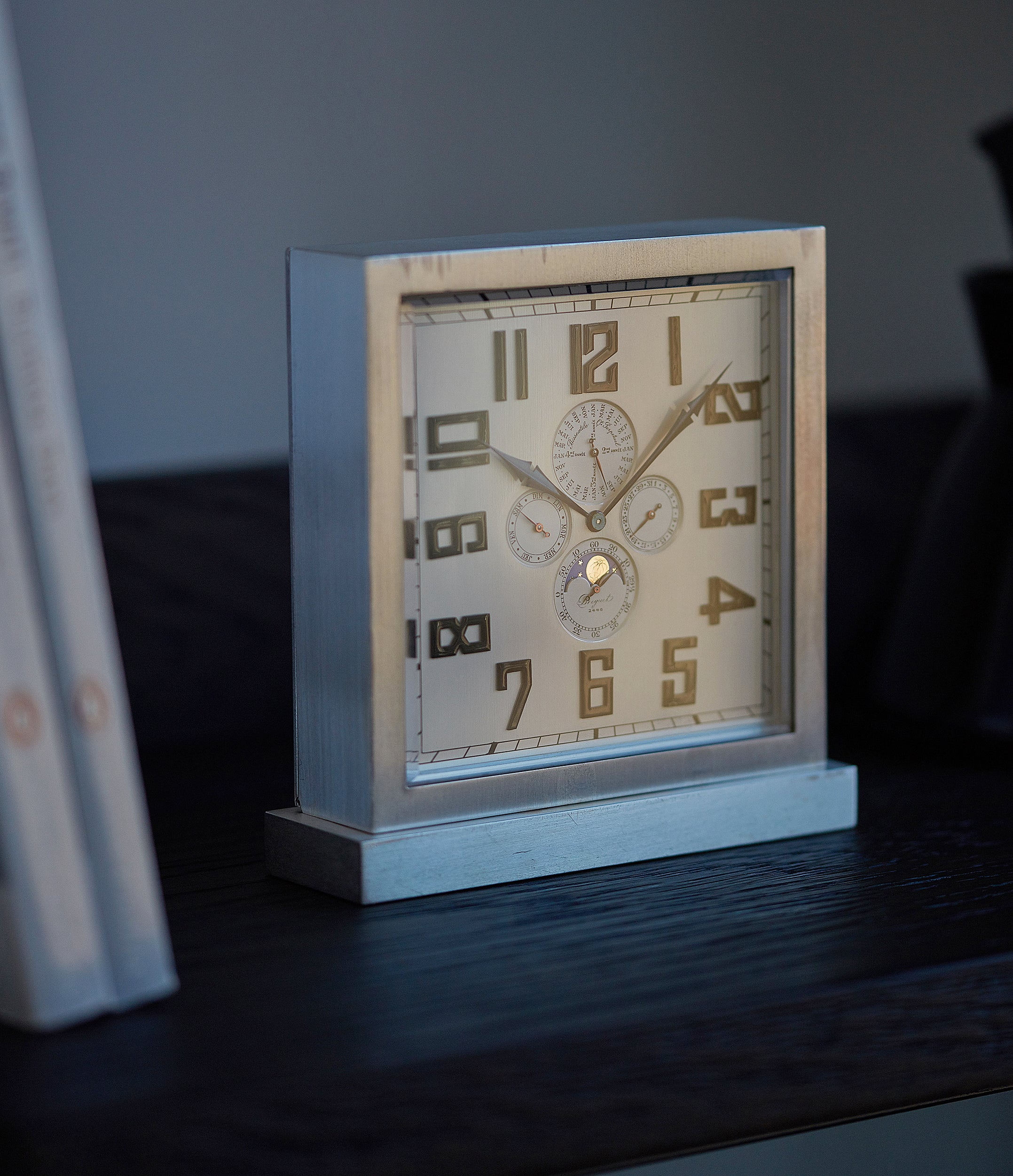 Perpetual Calendar | Art Deco | Desk Clock