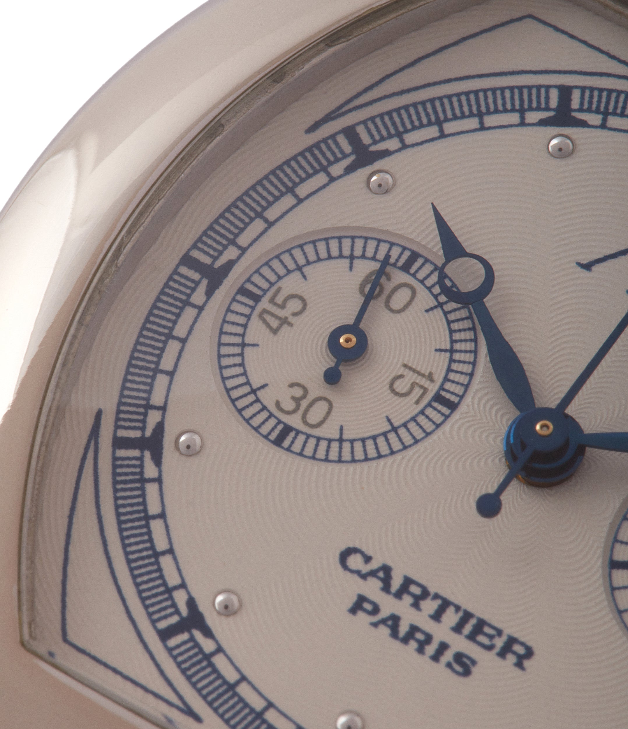 shop Cartier Monopusher 2396 Cal. 045MC THA by independent watchmakers chronograph  for sale at A Collected Man London UK specialist of rare watches