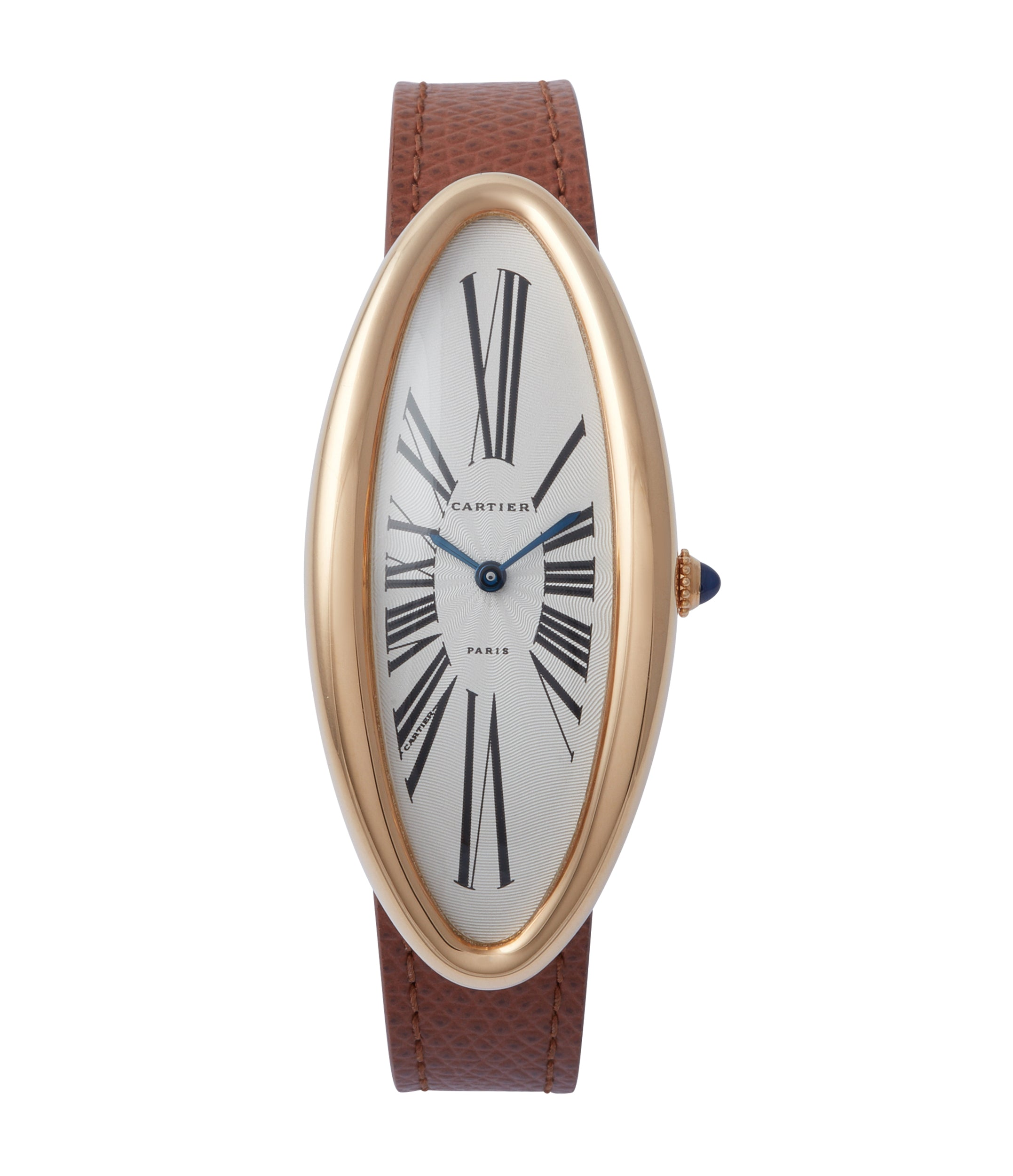 buy Cartier Baignoire Allongée vintage pink gold time-only dress watch for sale online A Collected Man London British specialist of rare watches