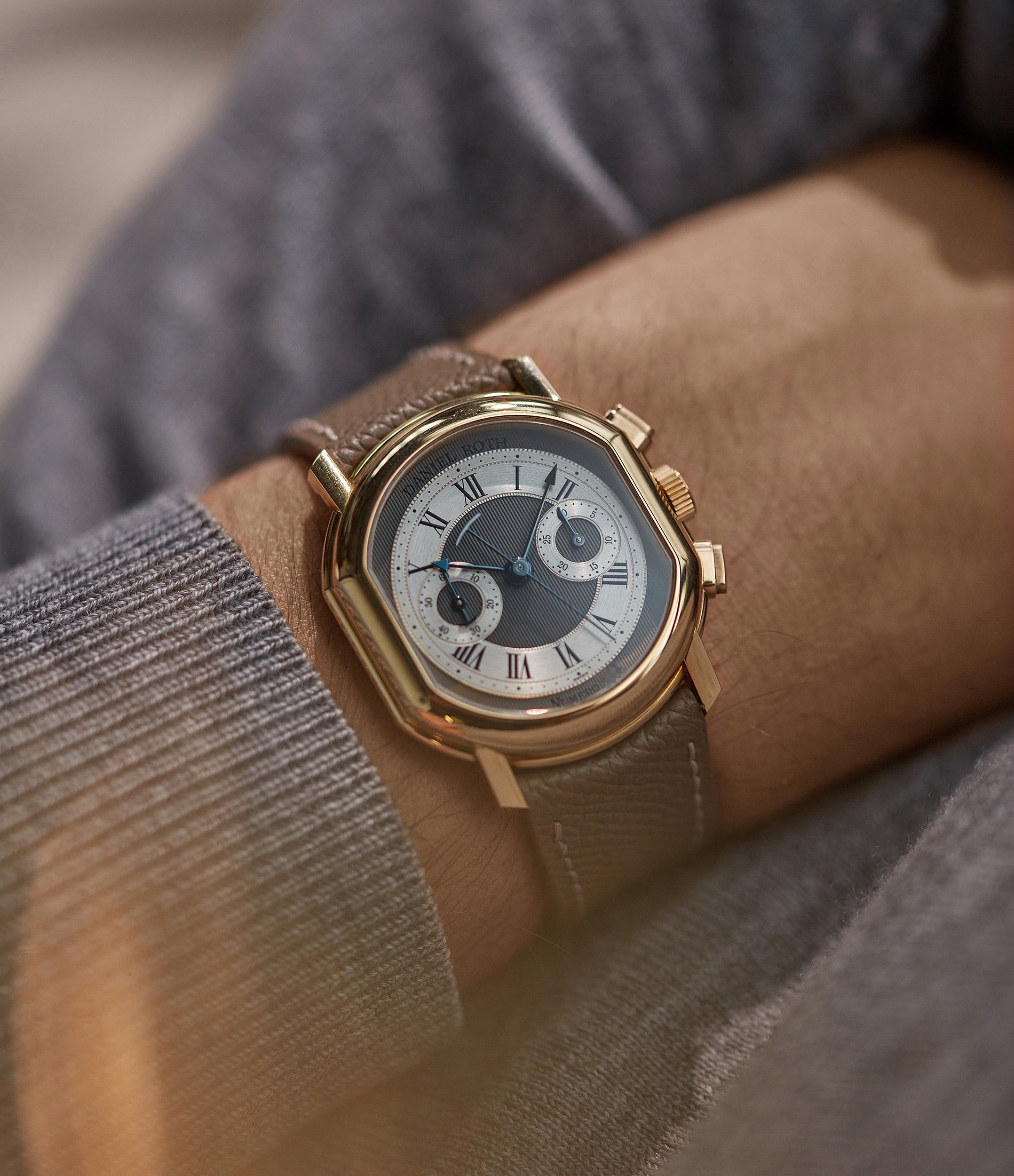 Chronograph BB 2147 | yellow gold