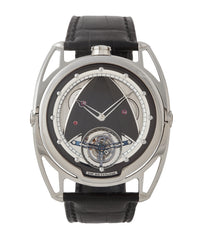 buy De Bethune DB28T tourbillon titanium time-only watch from independent watchmaker for sale online at A Collected Man London UK specialist of rare watches