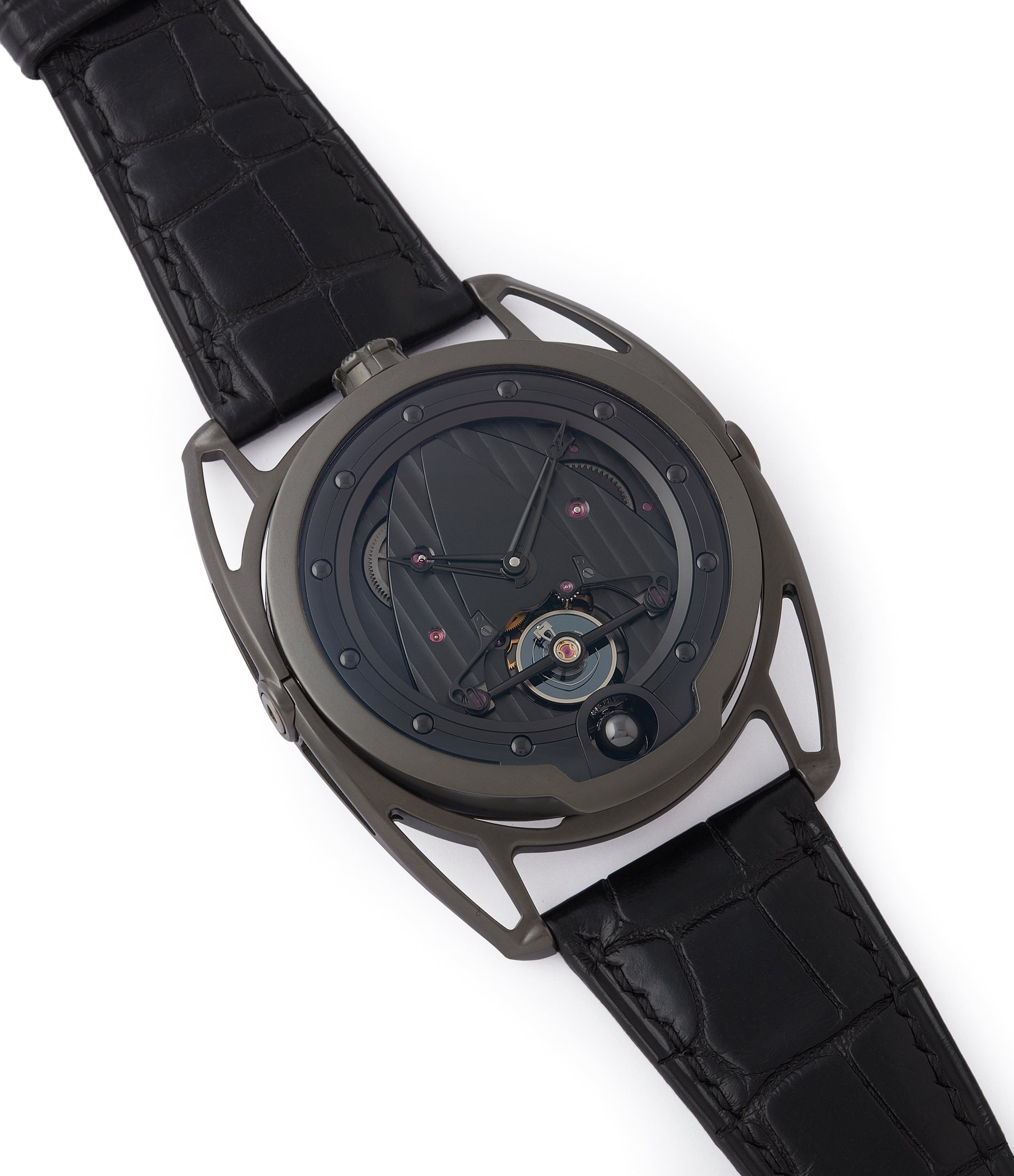 selling De Bethune DB28 Dark Shadows independent watchmaker for sale online at A Collected Man London UK specilaist of rare watches