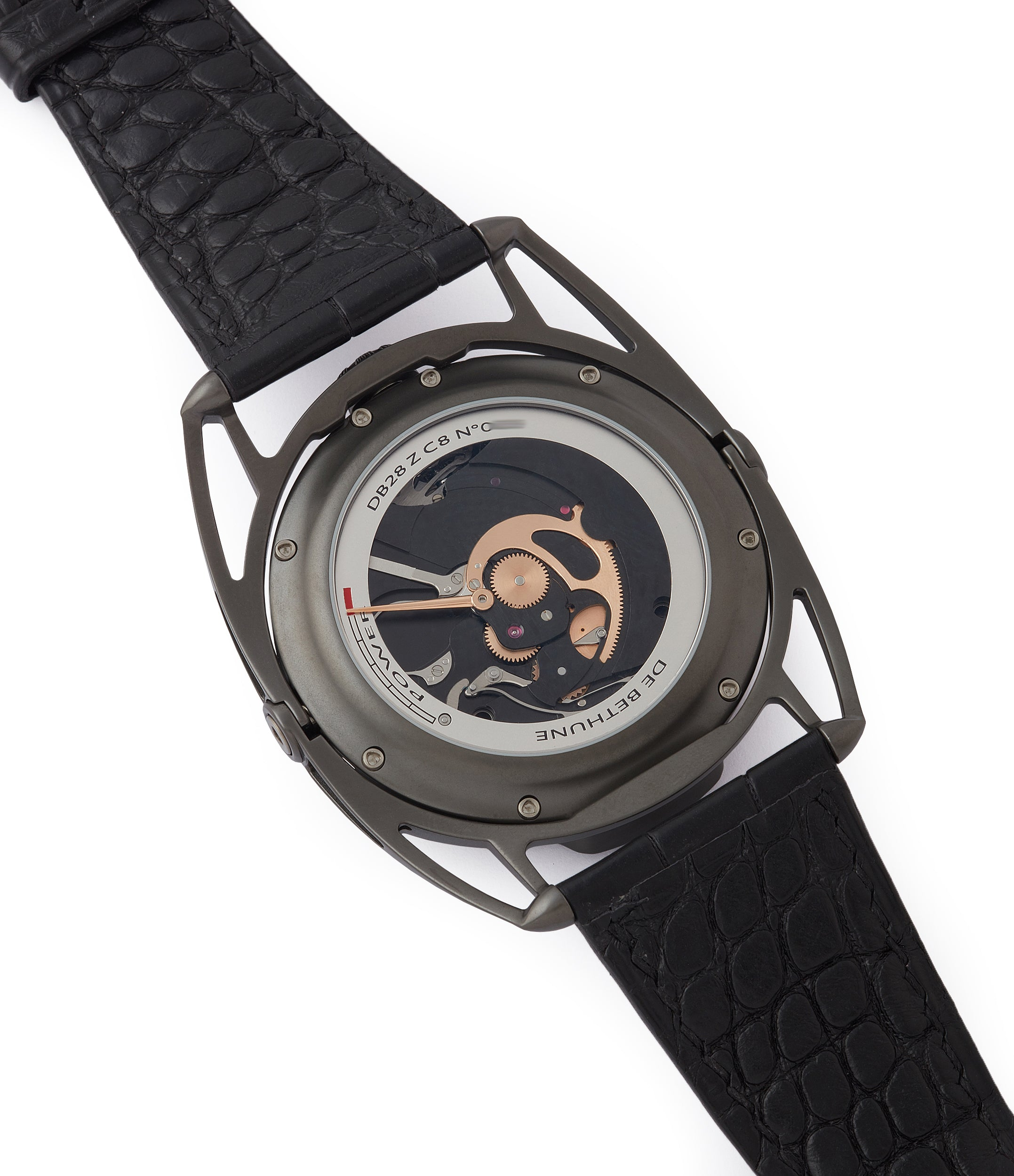 buy pre-owned De Bethune DB28 Dark Shadows independent watchmaker for sale online at A Collected Man London UK specilaist of rare watches