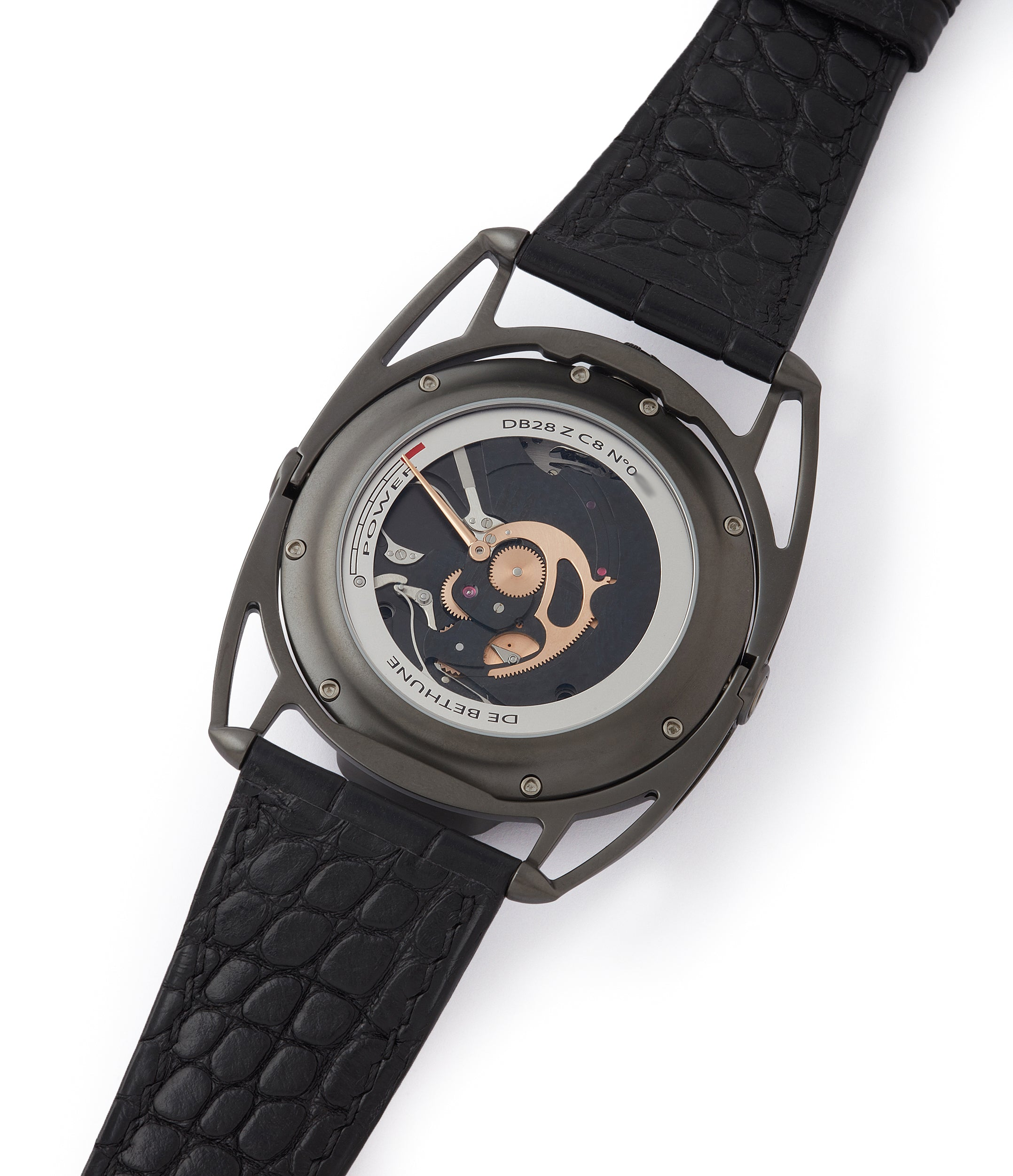 independent watchmaker De Bethune DB28 Dark Shadows independent watchmaker for sale online at A Collected Man London UK specilaist of rare watches