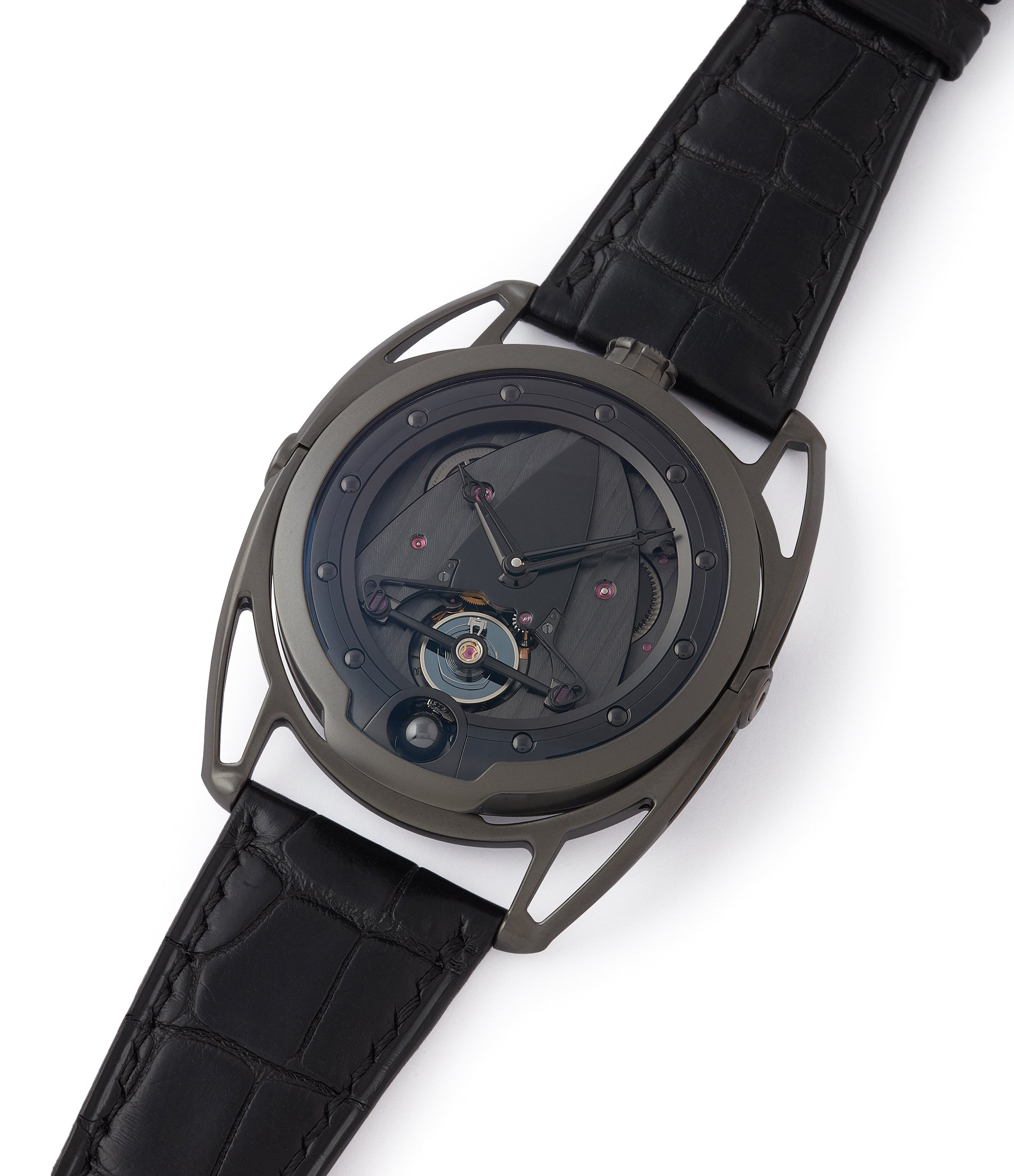 shop De Bethune DB28 Dark Shadows independent watchmaker for sale online at A Collected Man London UK specilaist of rare watches