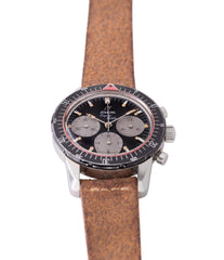 for sale vintage Enicar Aqua Graph 072-02-02 steel vintage chronograph watch for sale online at A Collected Man London UK specialist of rare watches