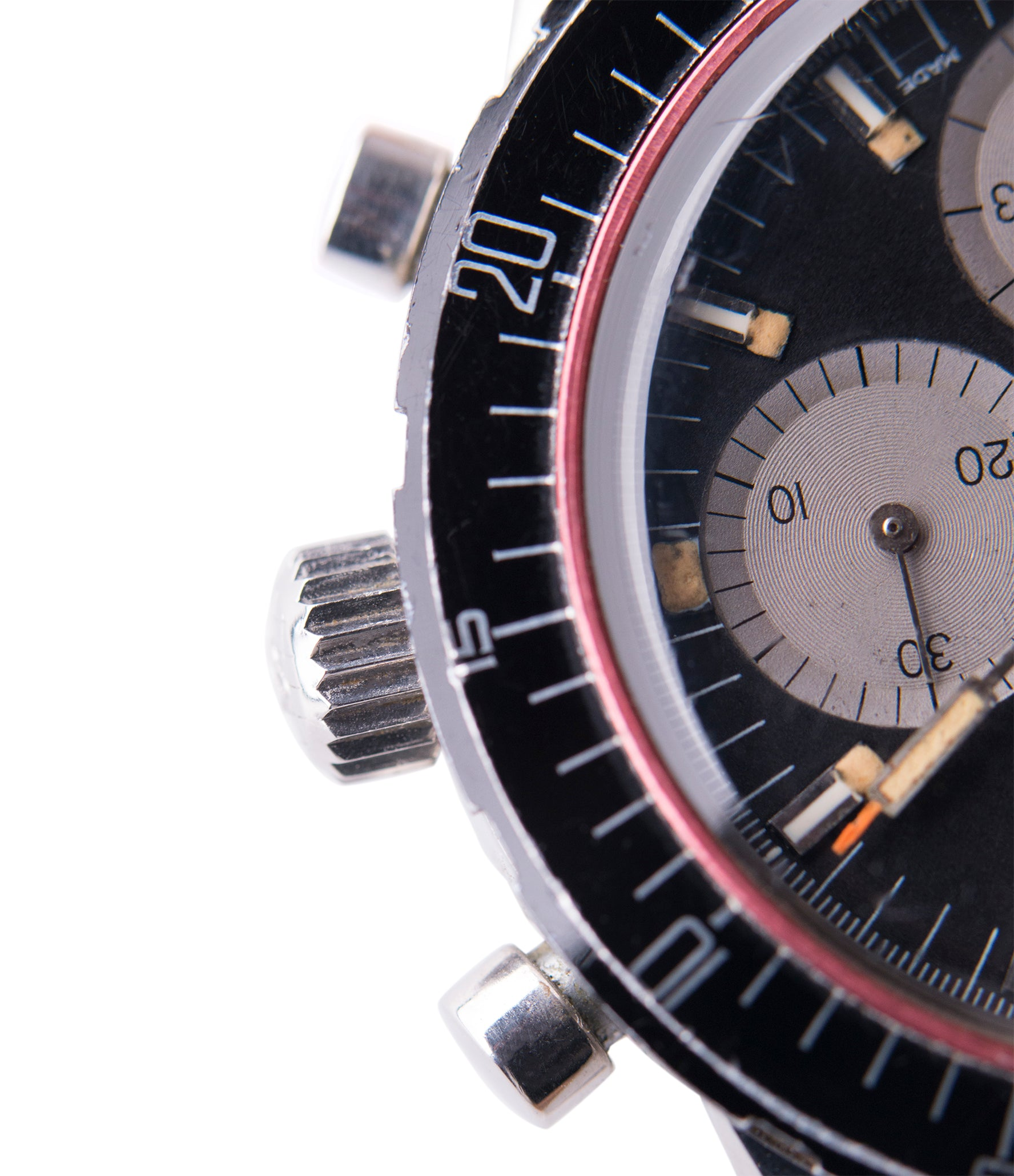 chronograph Enicar Aqua Graph 072-02-02 steel watch for sale online at A Collected Man London UK specialist of rare watches