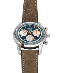 buy vintage Jim Clark Mark IV Enicar Sherpa Graph 300 Ref. 072-02-01 steel chronograph sport racing watch for sale online at A Collected Man London UK vintage watch specialist