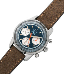 for sale vintage Enicar Sherpa Graph 300 Ref. 072-02-01 steel chronograph sport racing watch for sale online at A Collected Man London UK vintage watch specialist