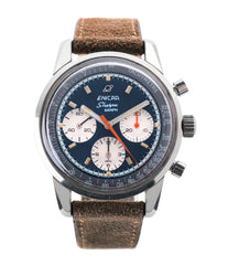 buy Enicar Sherpa Graph 300 Ref. 072-02-01 vintage steel chronograph sport racing watch for sale online at A Collected Man London UK vintage watch specialist