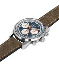 selling vintage Enicar Sherpa Graph 300 Ref. 072-02-01 steel chronograph sport racing watch for sale online at A Collected Man London UK vintage watch specialist