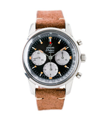 buy vintage Enicar Sherpa Graph 300 MKIII Jim Clark steel chronograph watch at A Collected Man London UK specialist of rare watches
